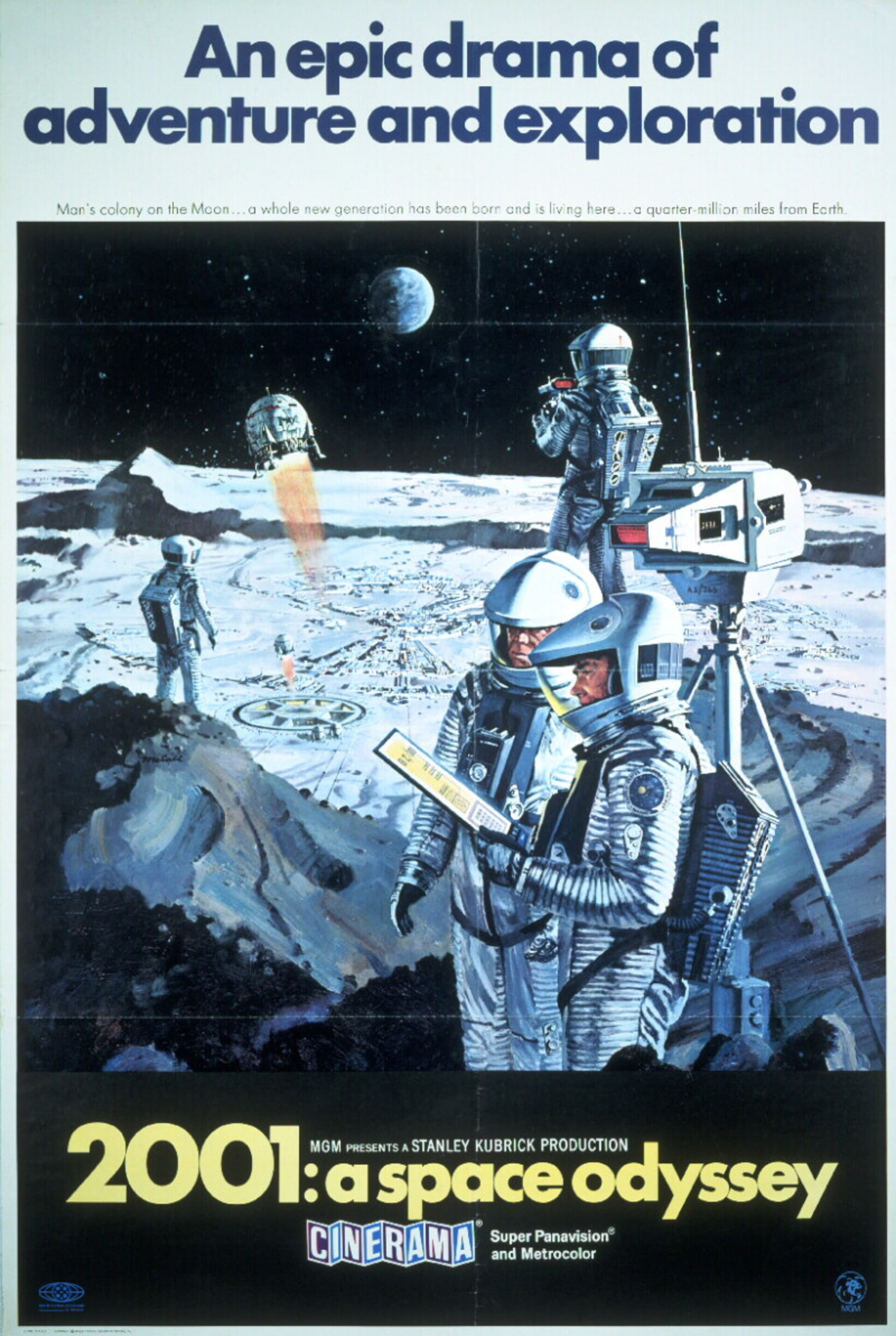 2001: A Space Odyssey - Poster 6