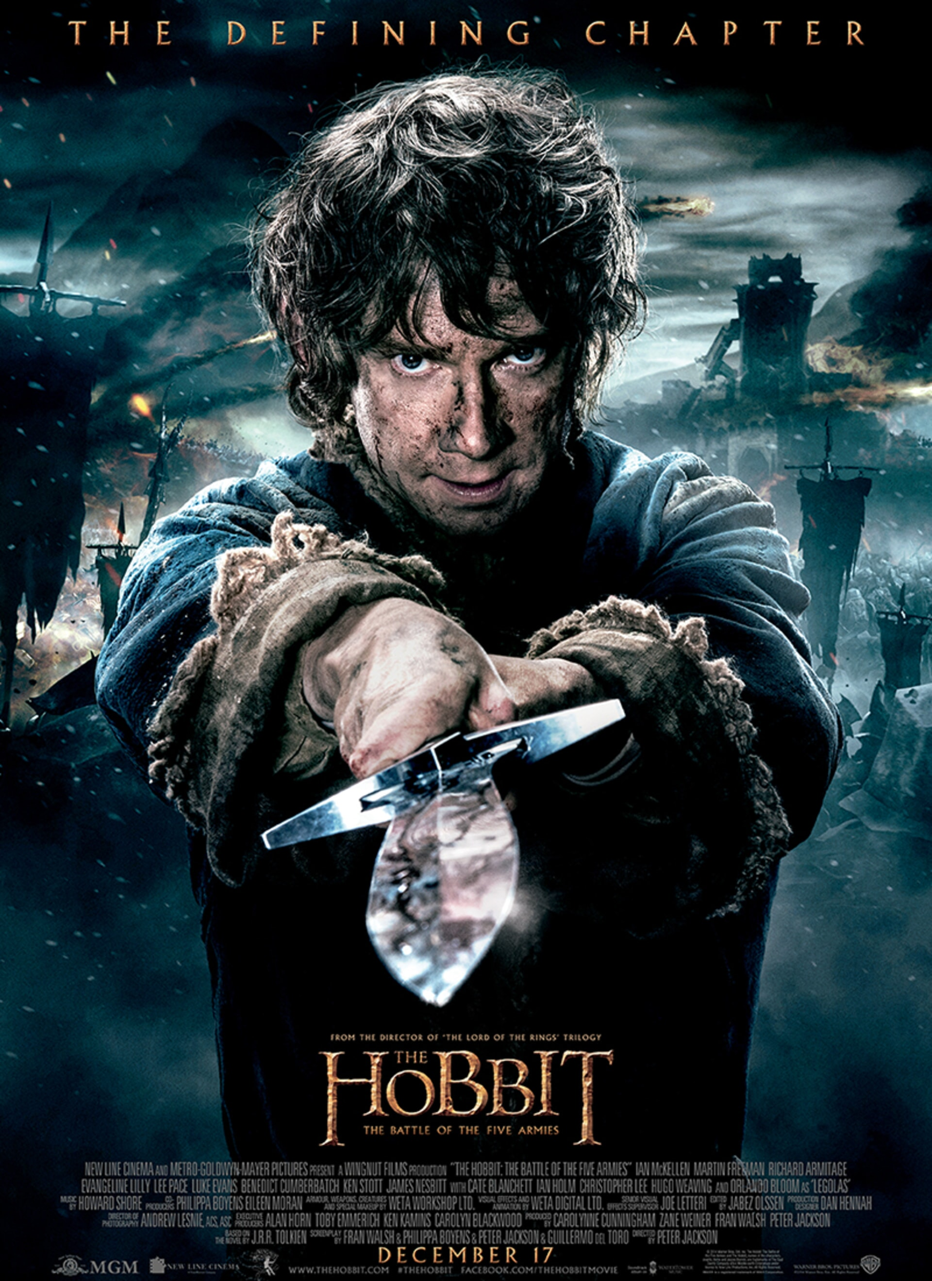 The Hobbit: The Battle of the Five Armies - Poster 1