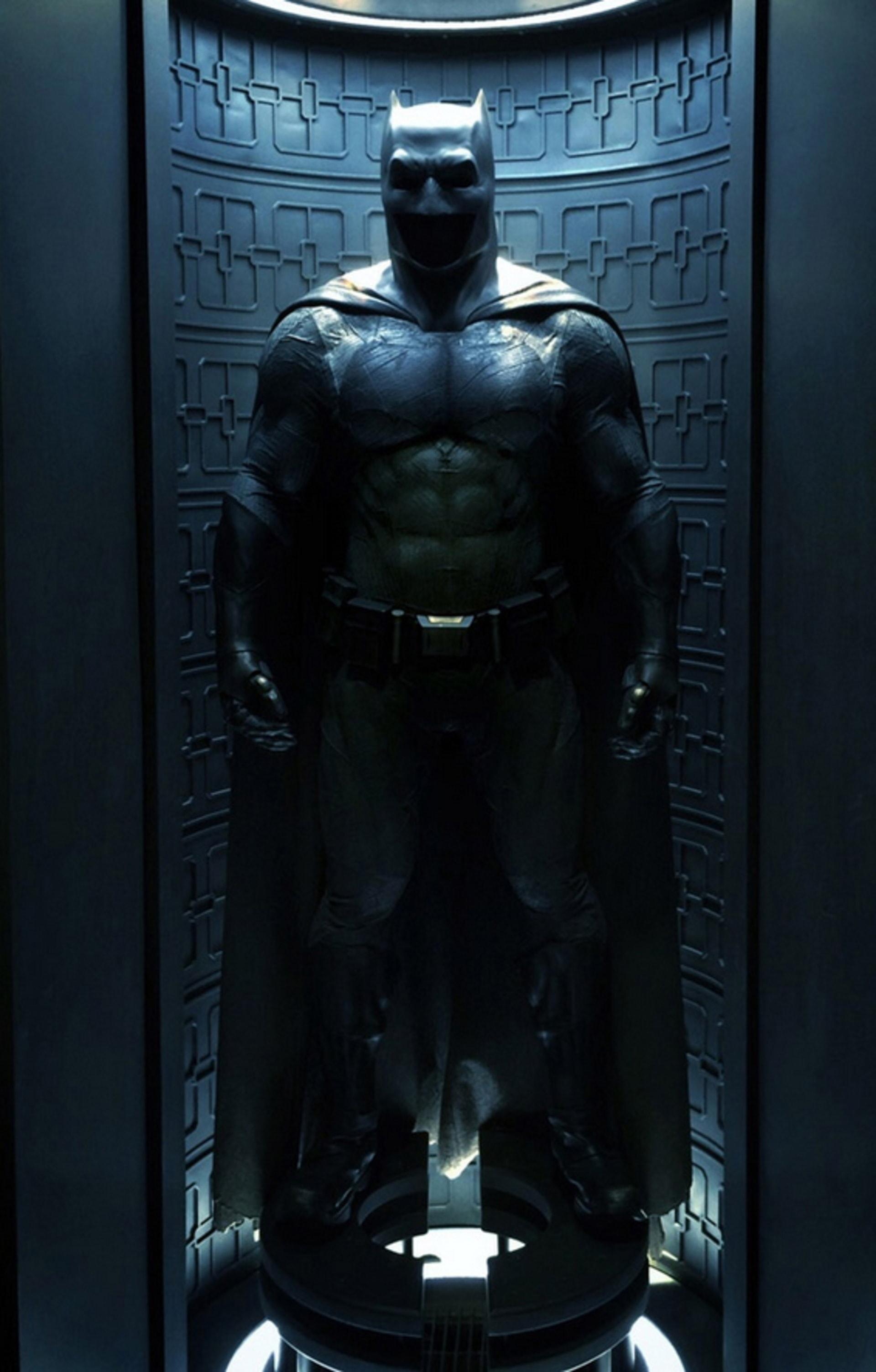 Bat suit in storage
