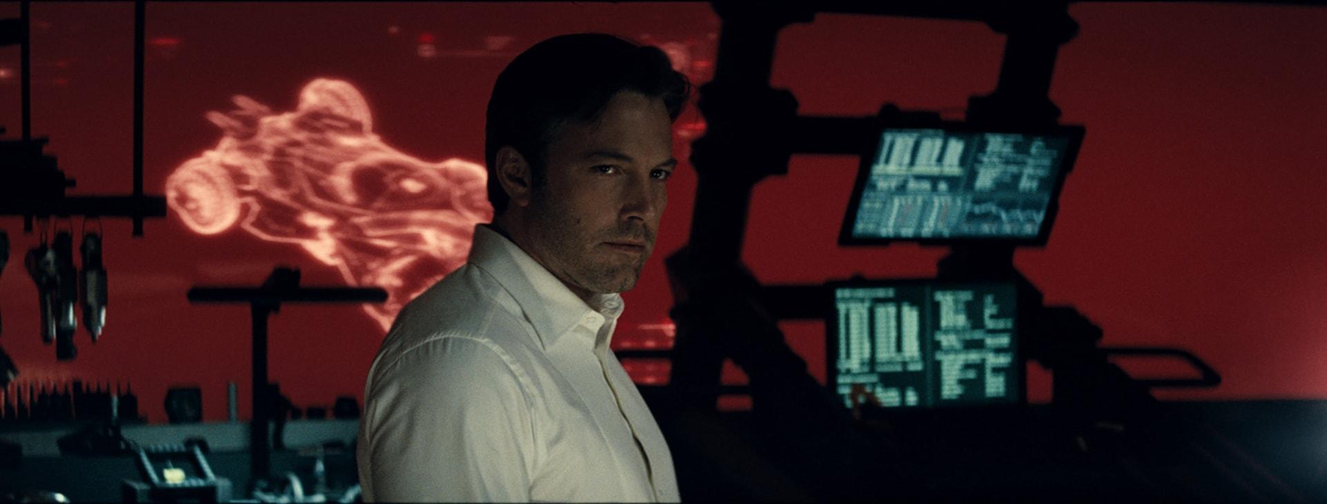 BEN AFFLECK as Bruce Wayne