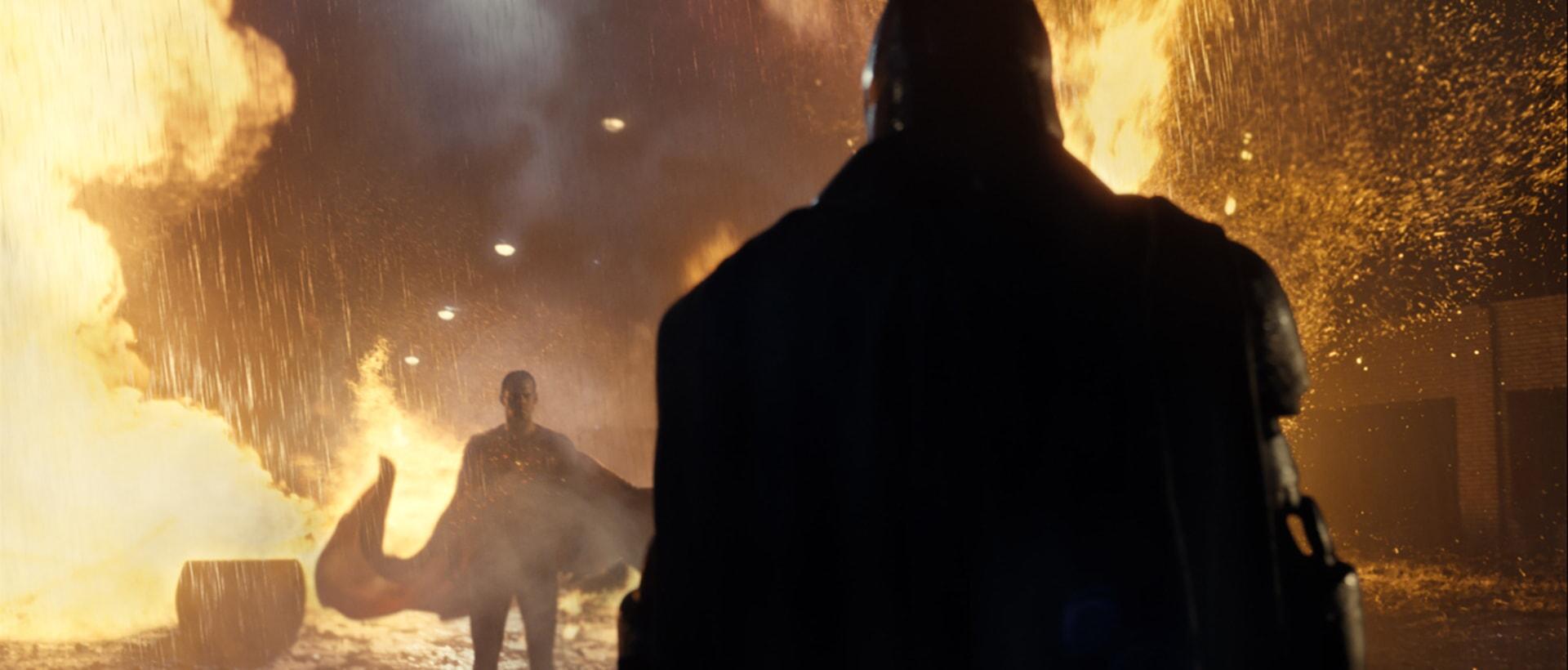 HENRY CAVILL as Superman and BEN AFFLECK as Batman