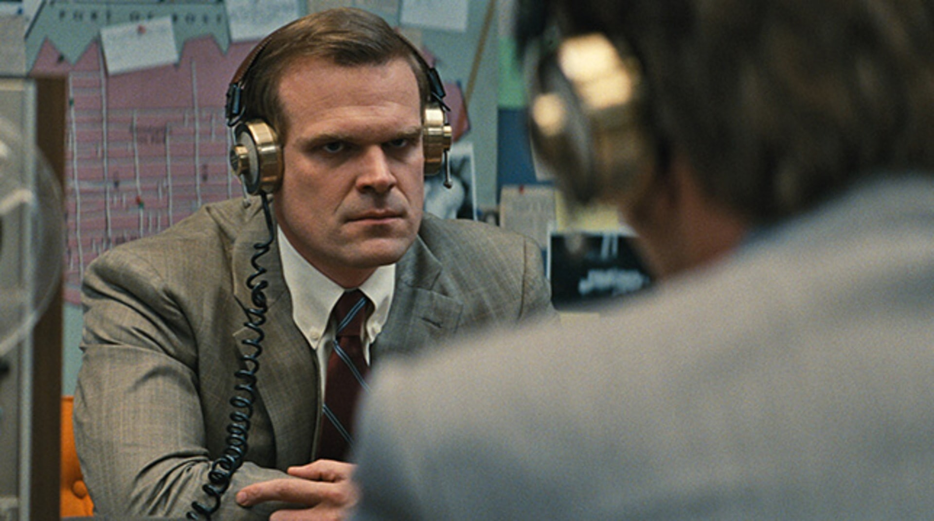 "DAVID HARBOUR as John Morris in the drama ""BLACK MASS."""
