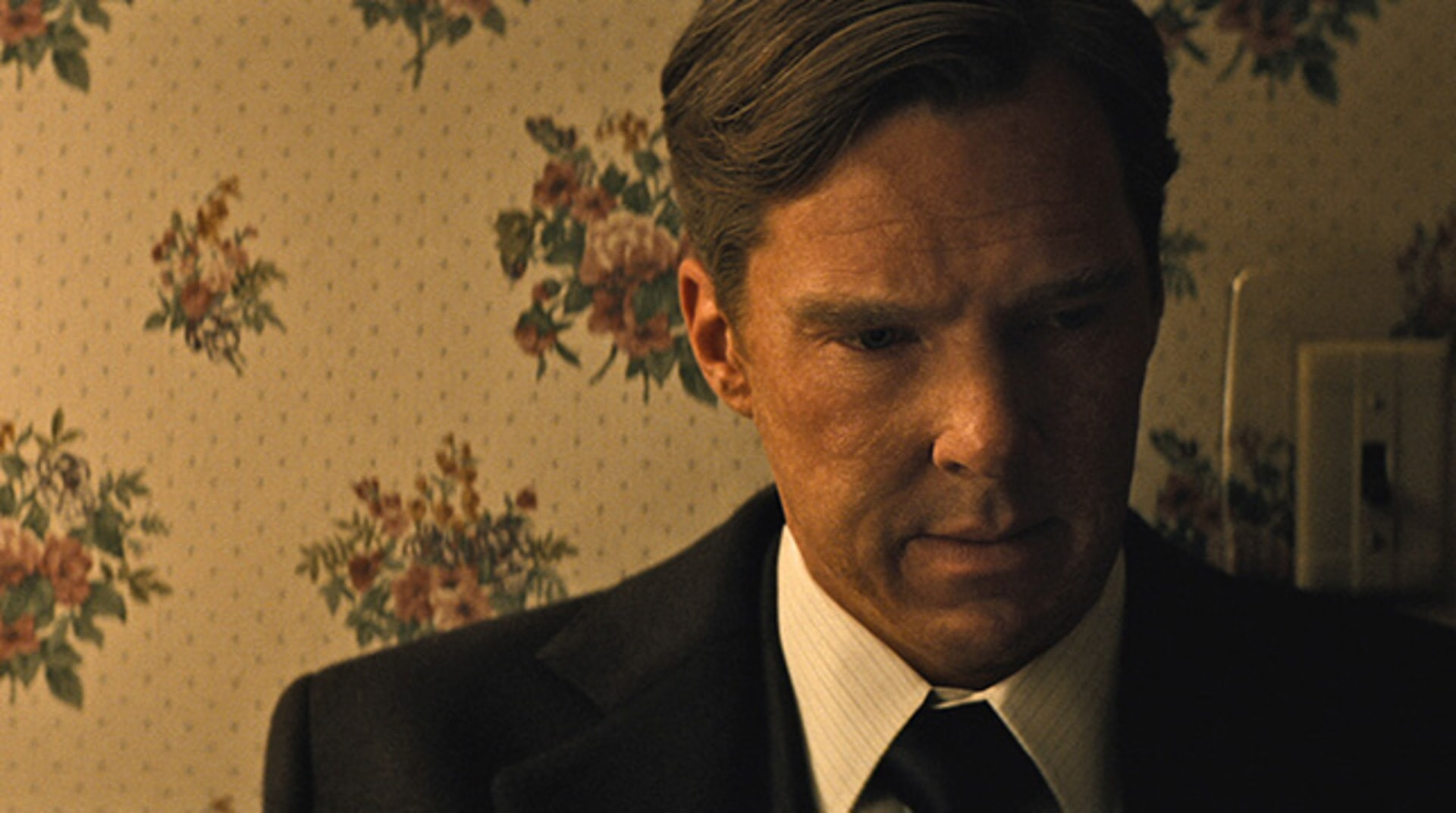 "BENEDICT CUMBERBATCH as Billy Bulger in the drama ""BLACK MASS."""
