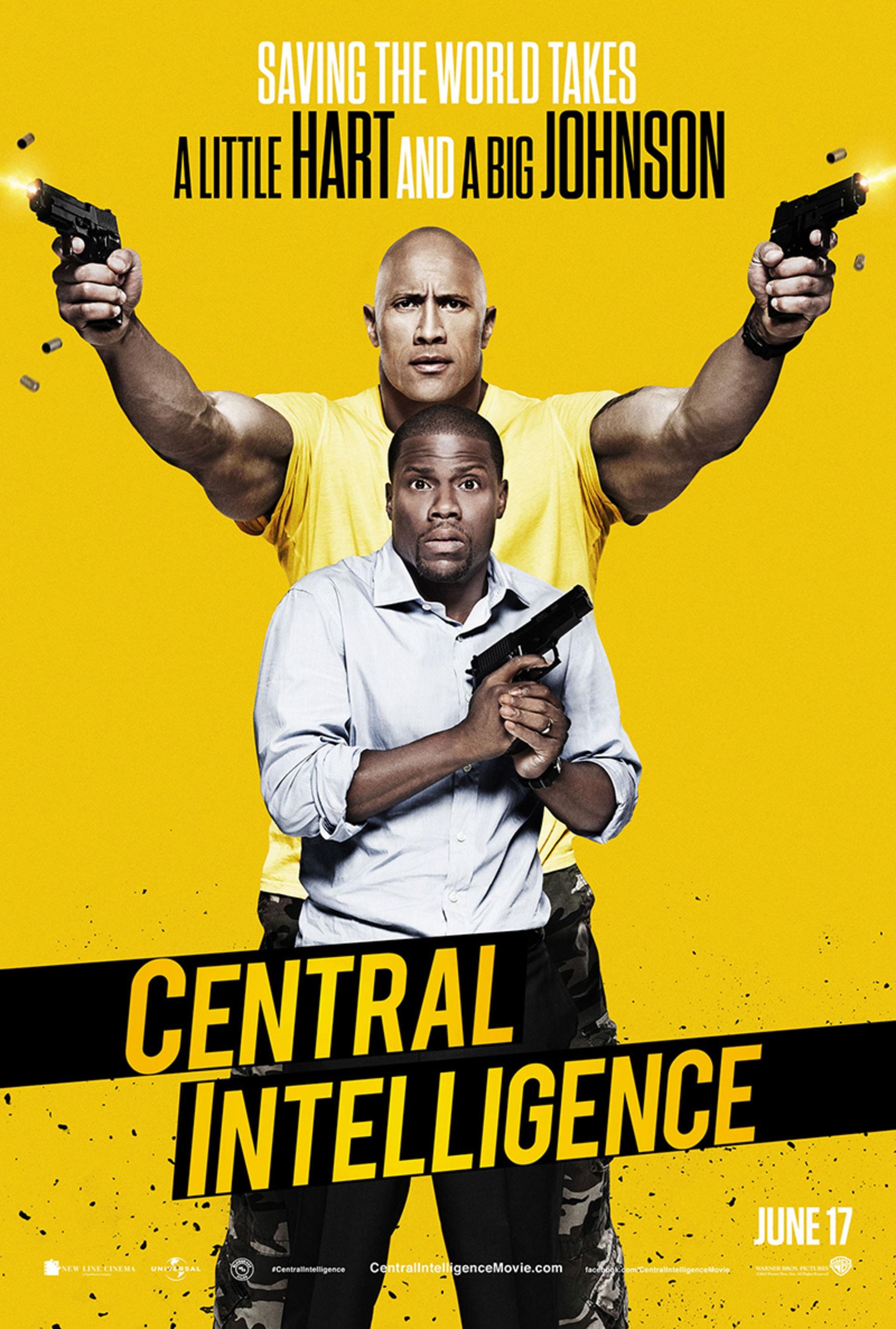Central Intelligence - Poster 1