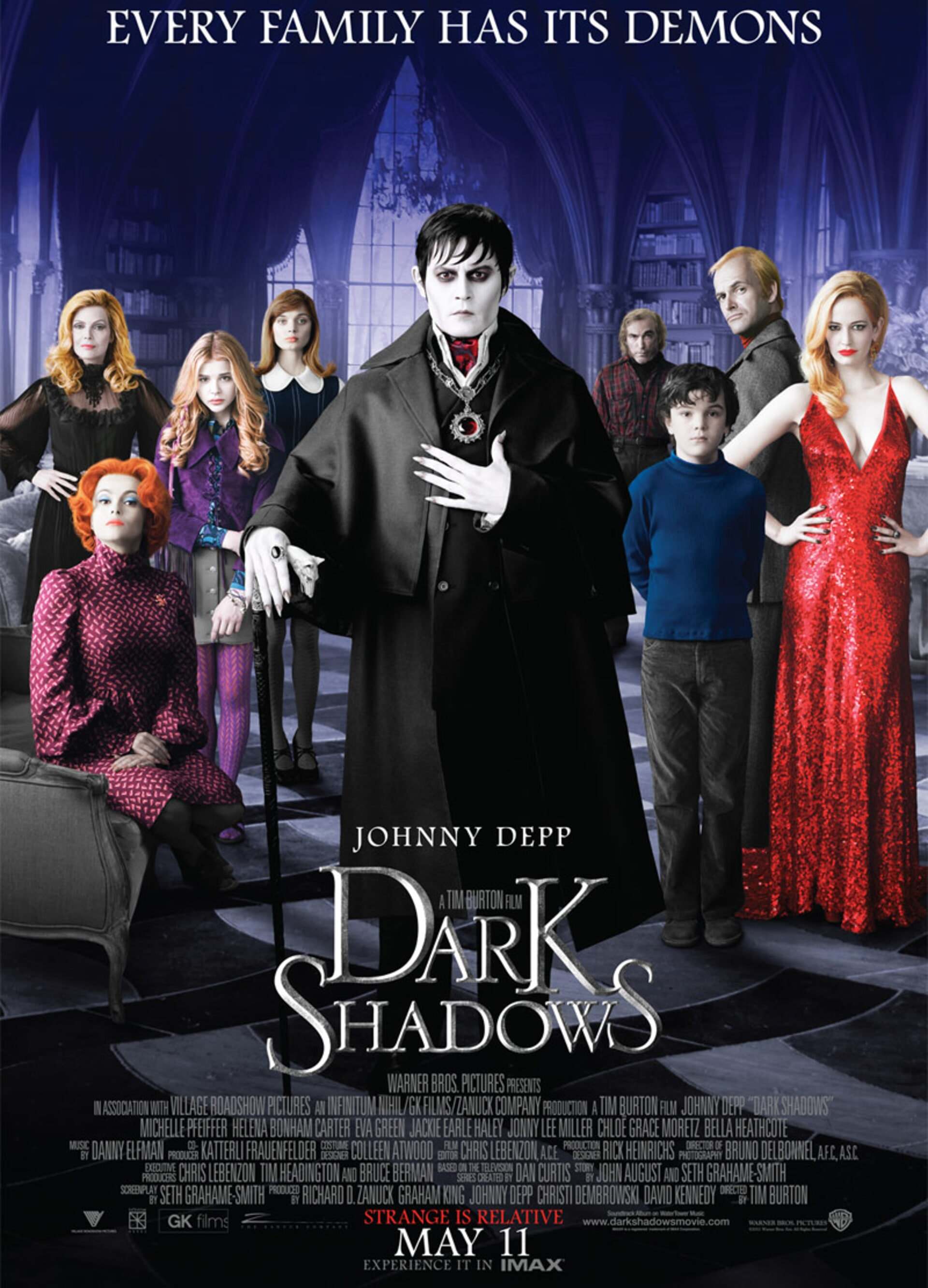 Dark Shadows - Poster 1