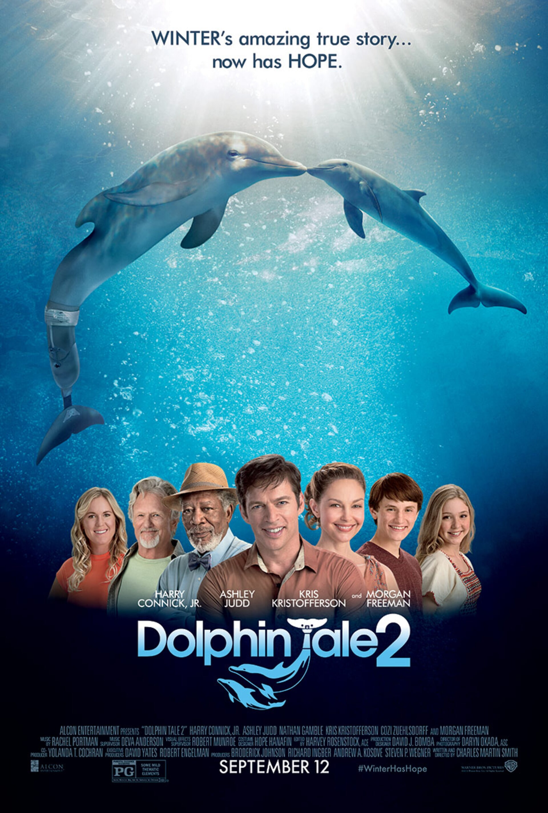 Dolphin Tale 2 - Poster 1