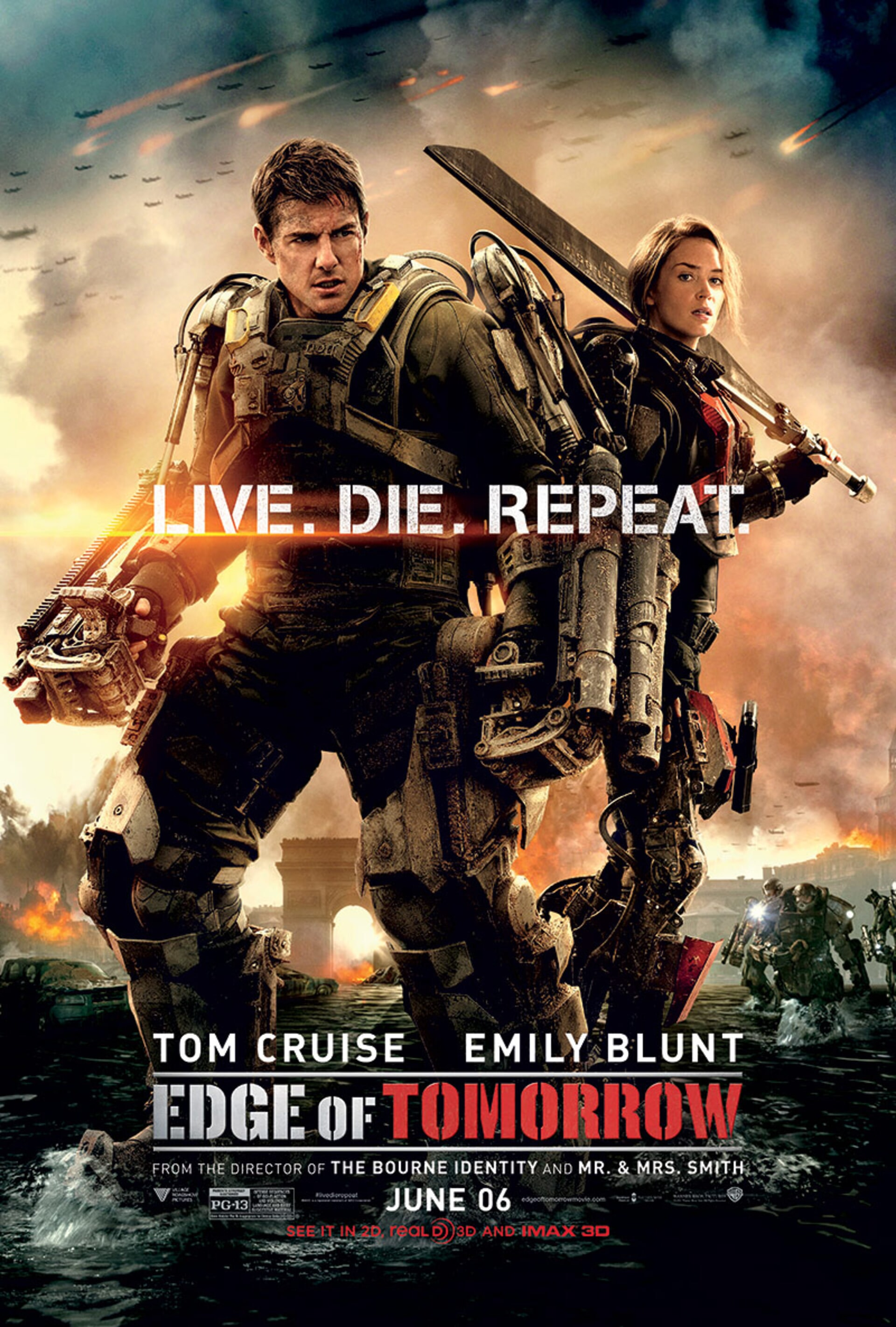 Edge of Tomorrow - Poster 2