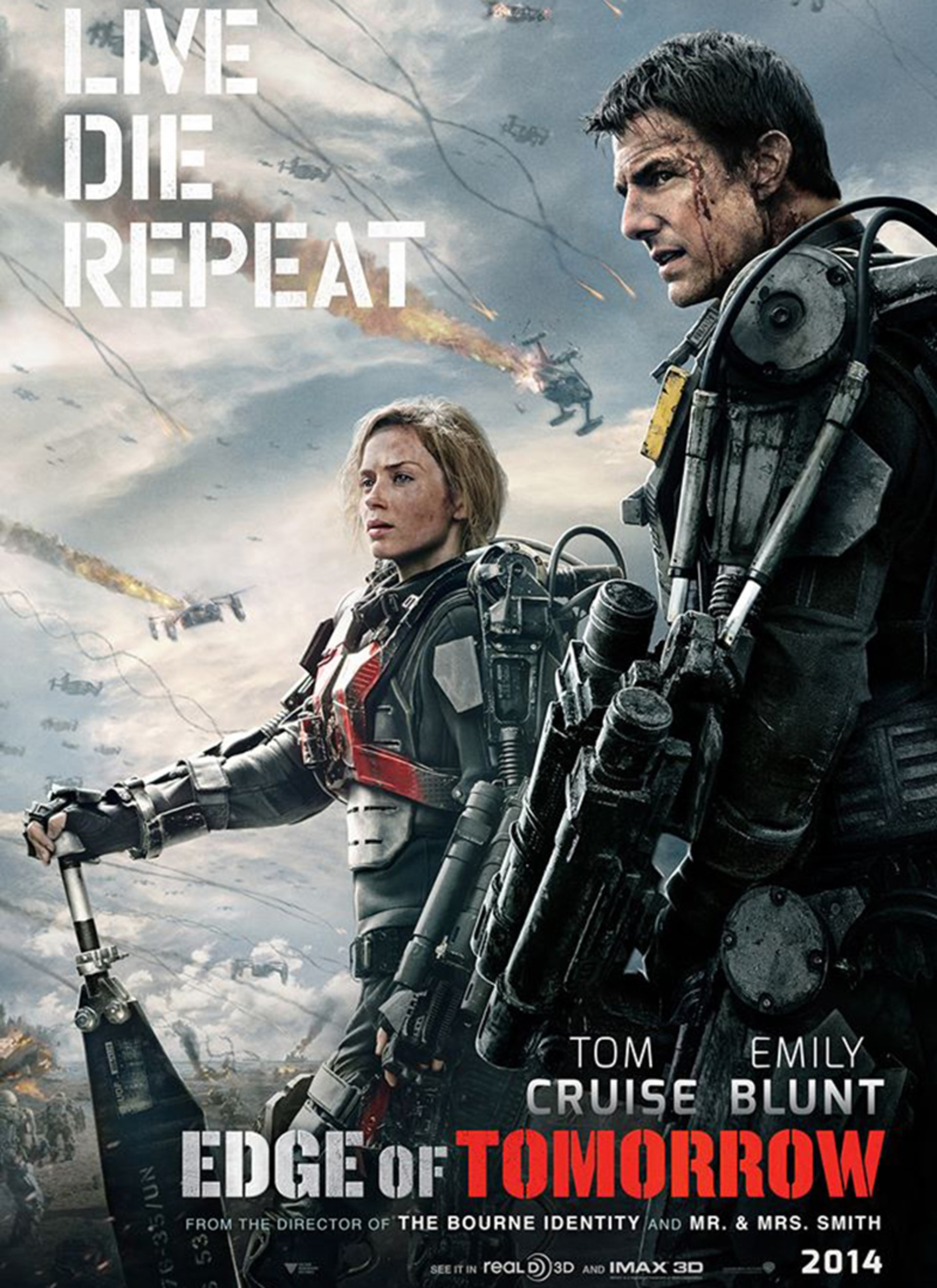 Edge of Tomorrow - Poster 3