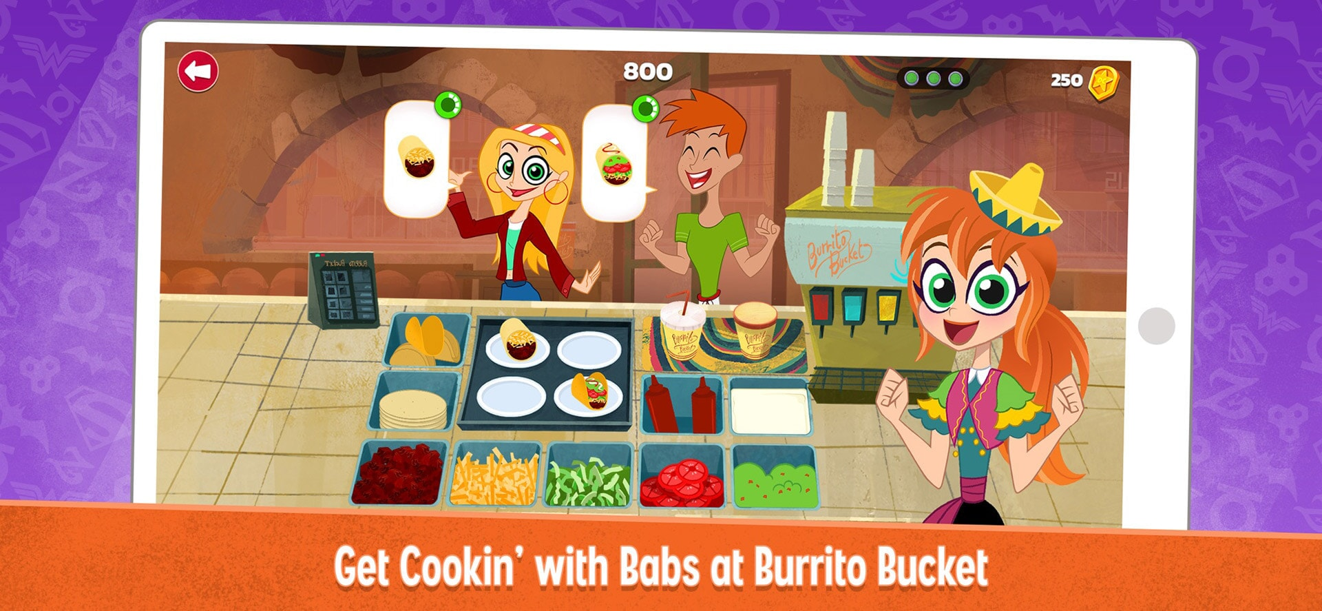 DC Super Hero Girls: Get Cookin' With Bobs At Burrito Bucket
