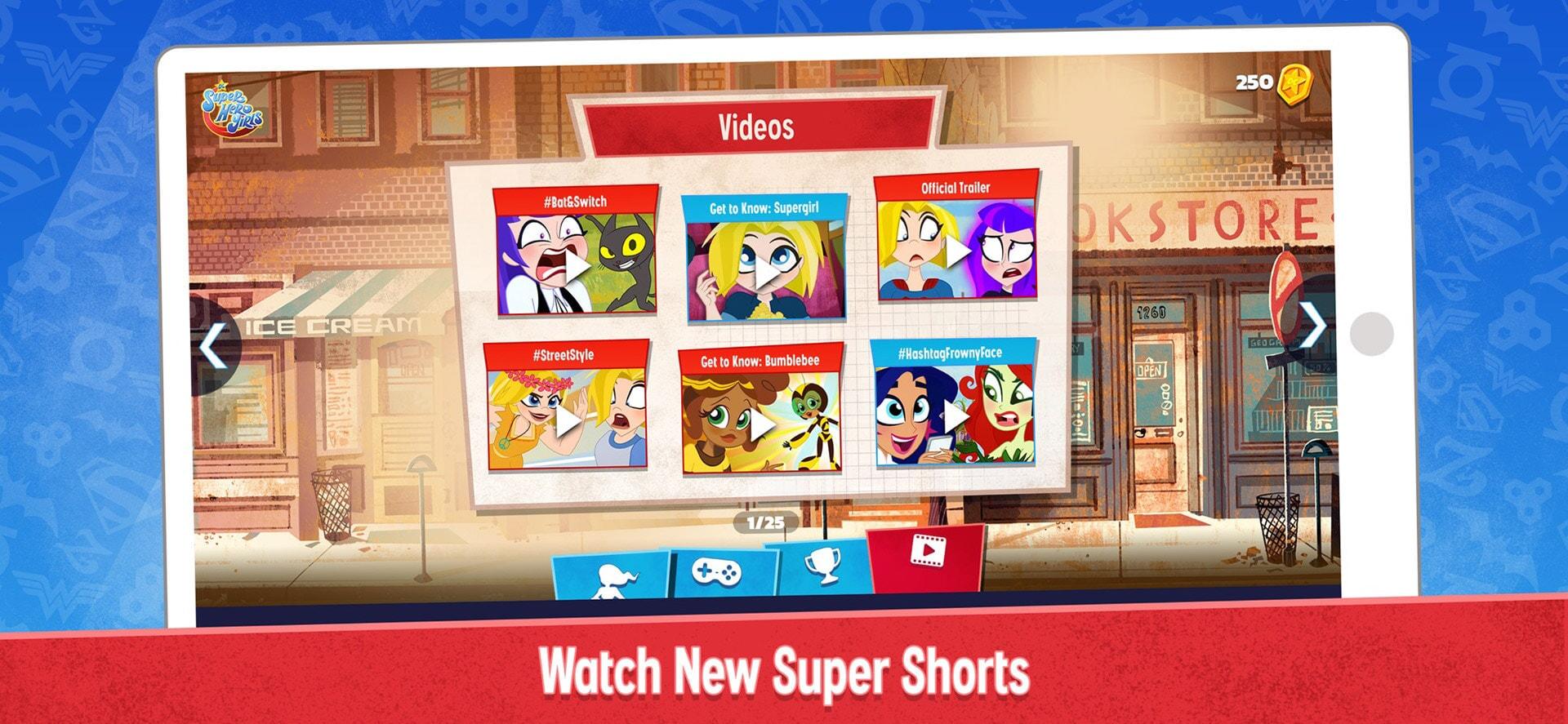 DC Super Hero Girls: Watch New Super Shorts
