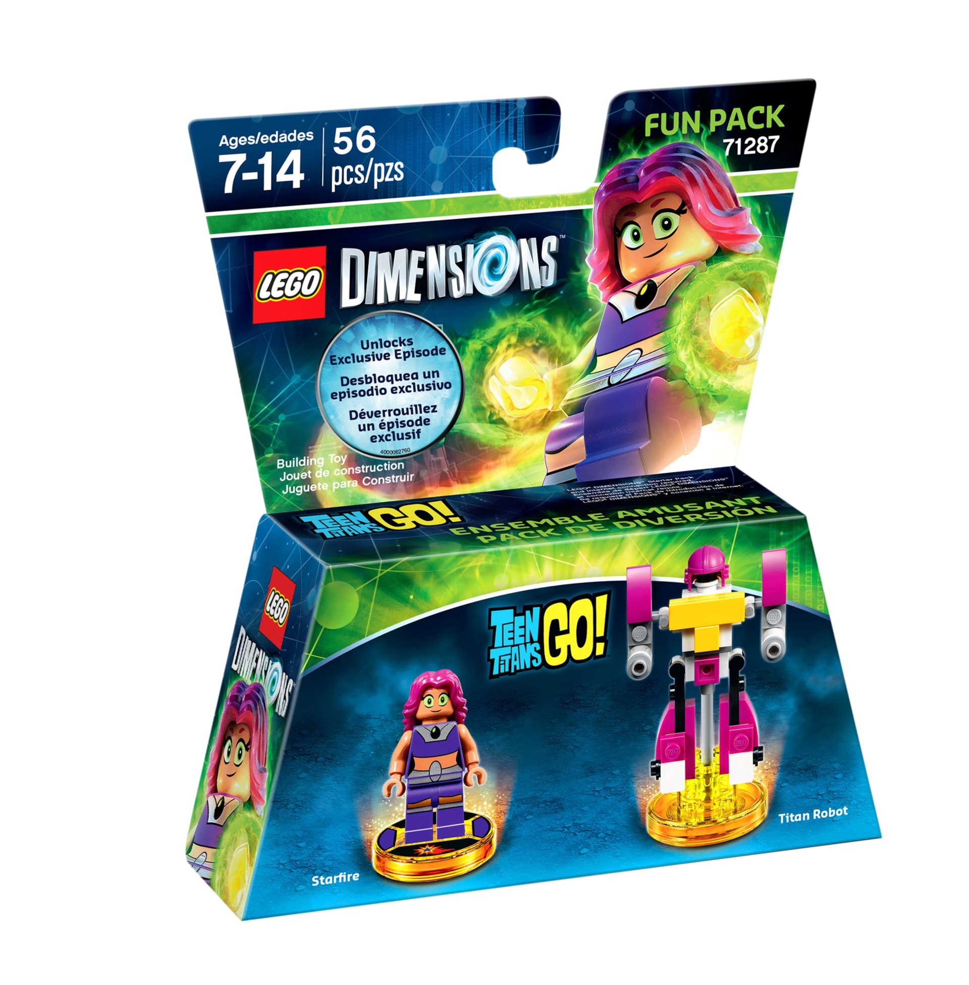 Starfire LEGO Dimensions expansion pack