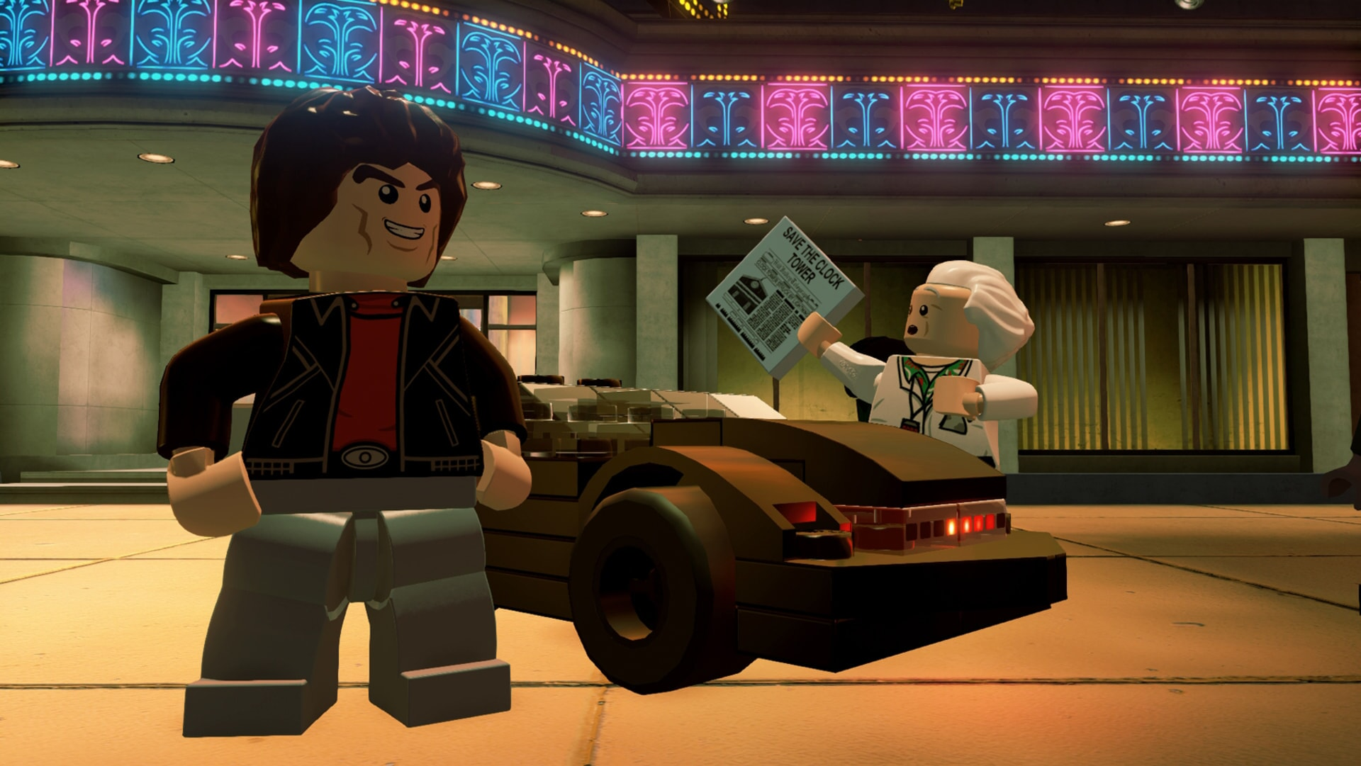 LEGO Dimensions: Knight Rider and the Professor from Back to the Future