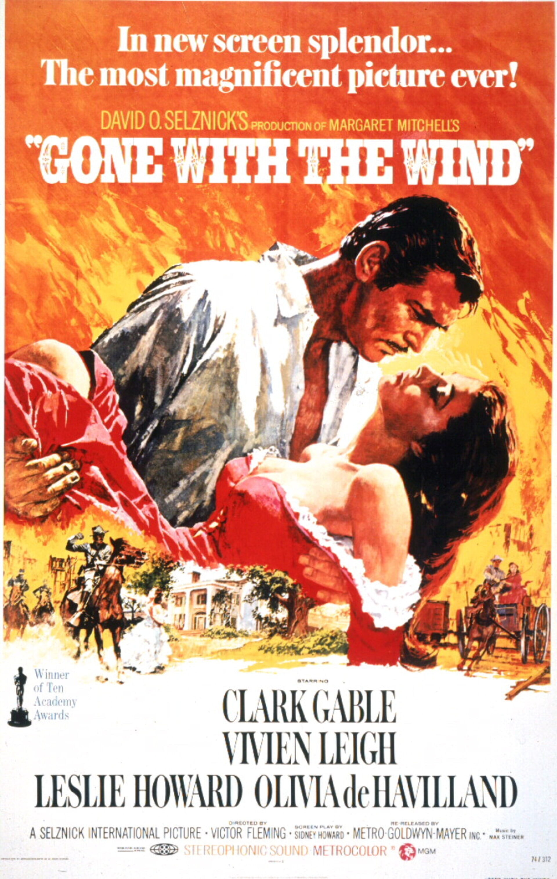 Gone with the Wind - Poster 1