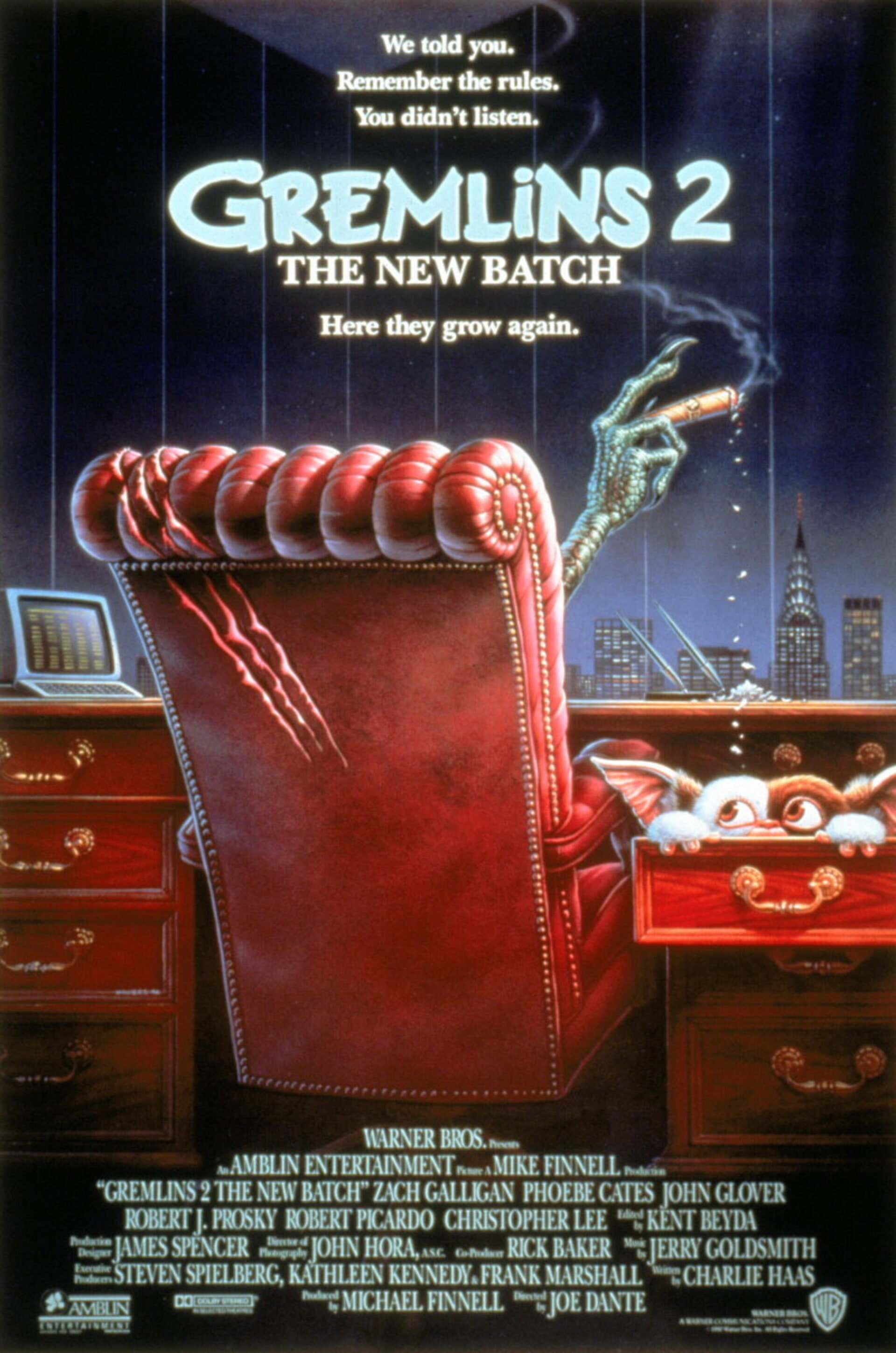 Gremlins 2: The New Batch - Poster 1