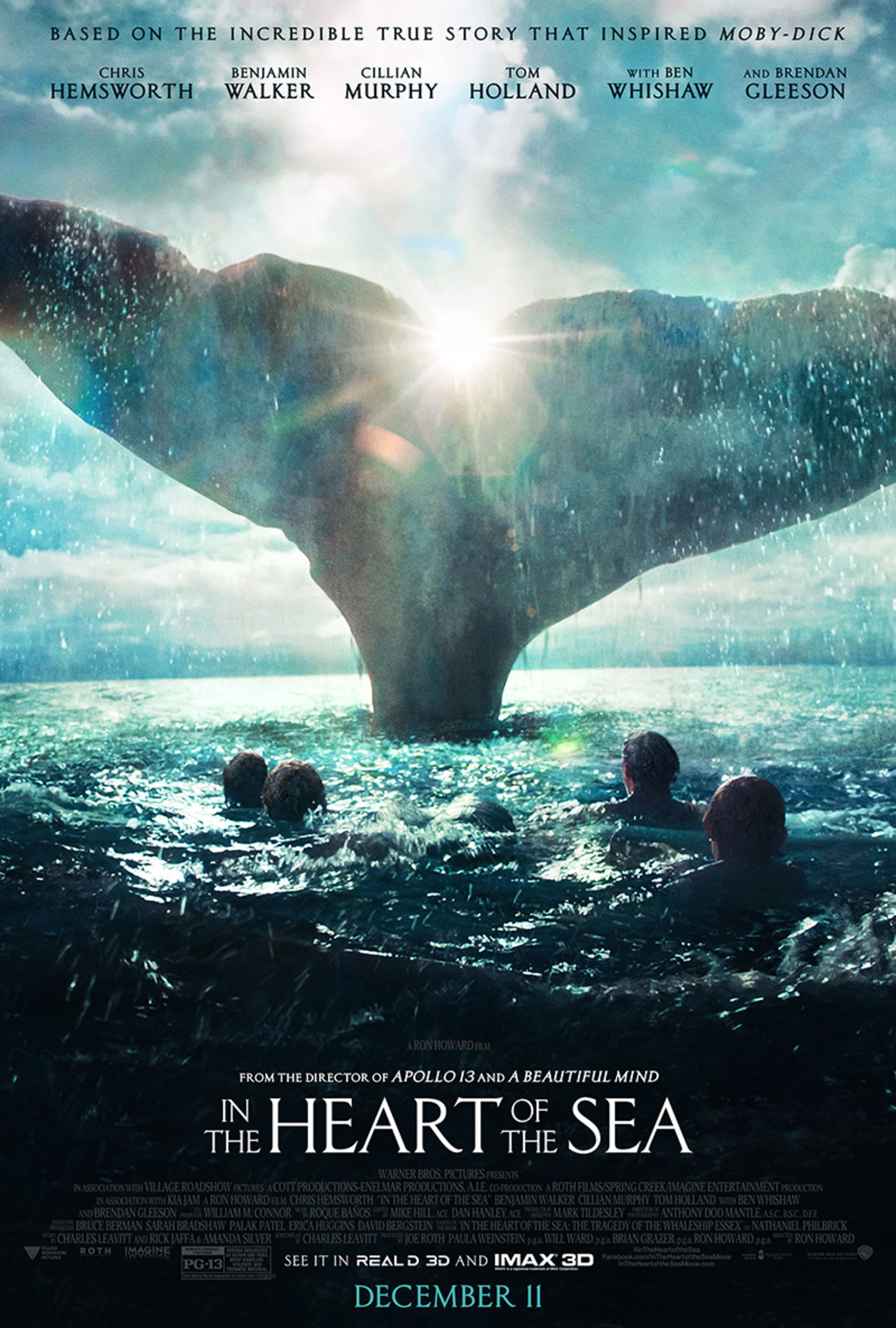 In the Heart of the Sea - Poster 2