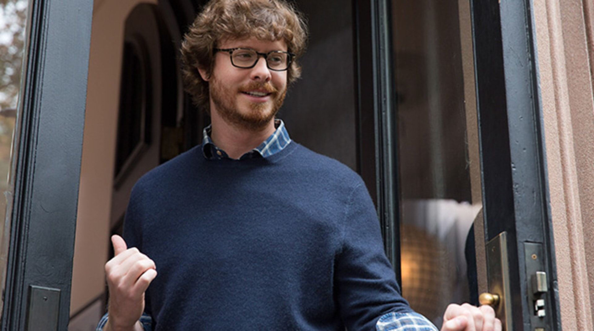 "ANDERS HOLM as Matt in Warner Bros. Pictures' comedy ""THE INTERN."""