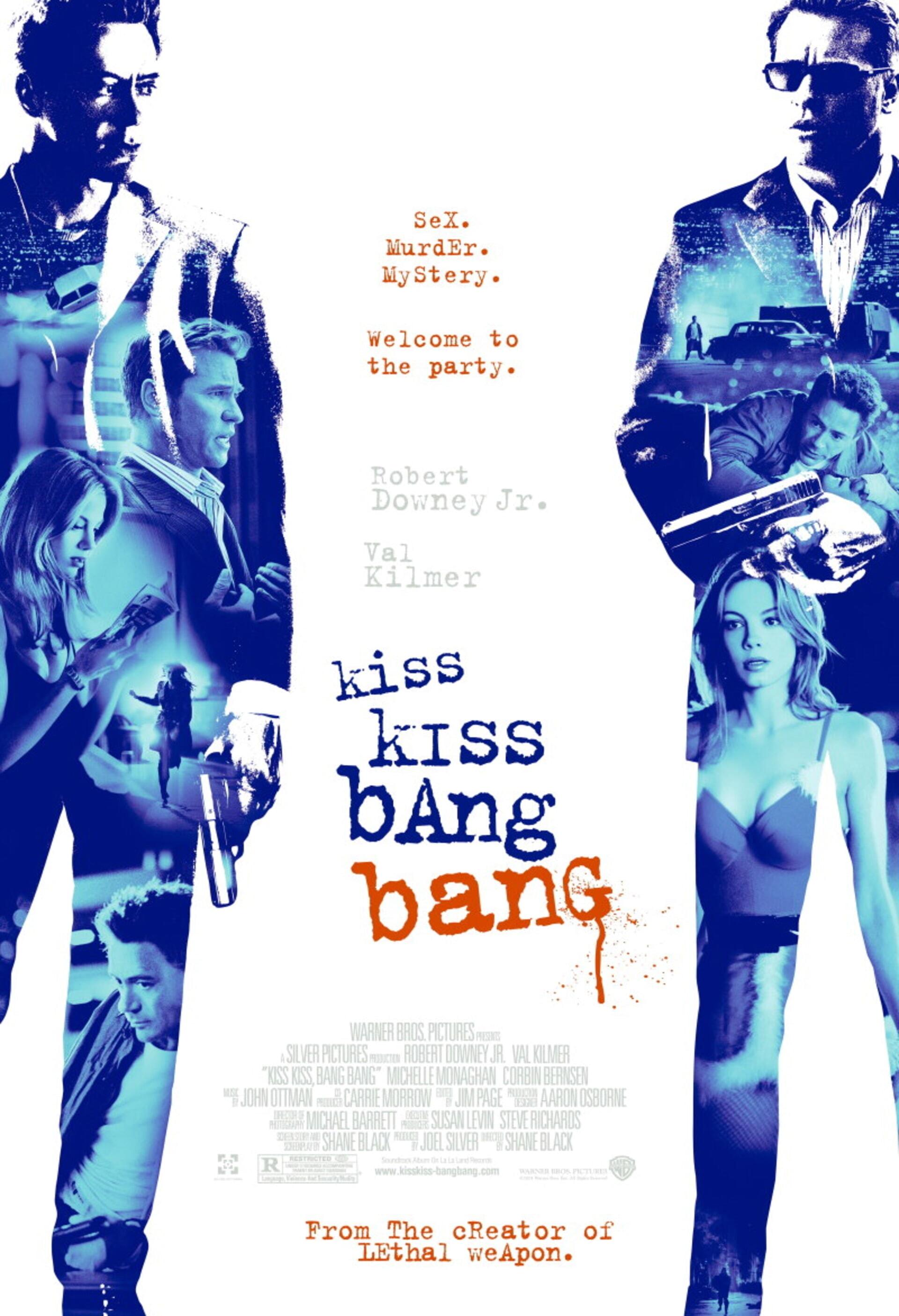 Kiss Kiss, Bang Bang - Poster 1