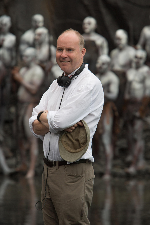 Director DAVID YATES on the set