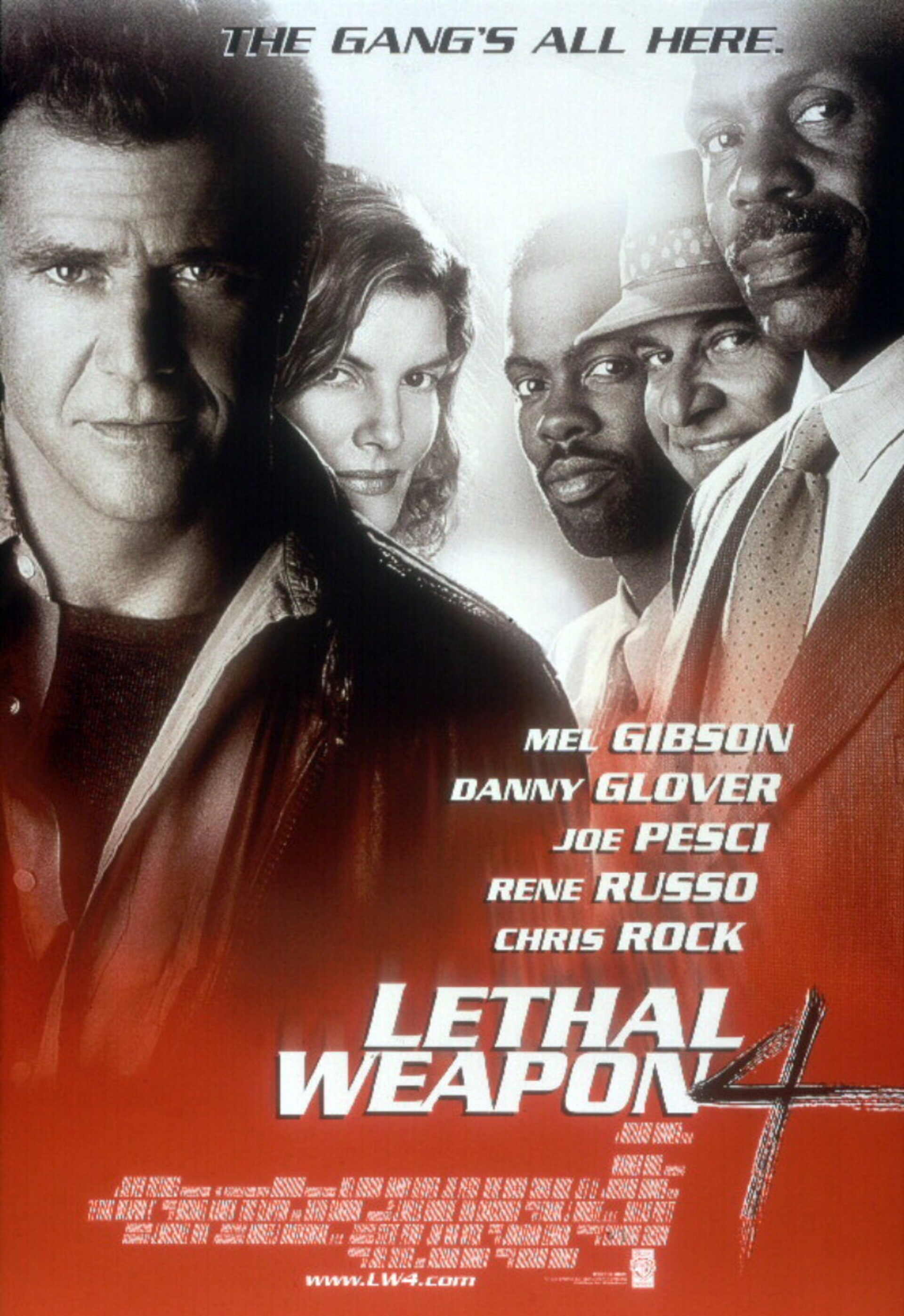 Lethal Weapon 4 - Poster 1