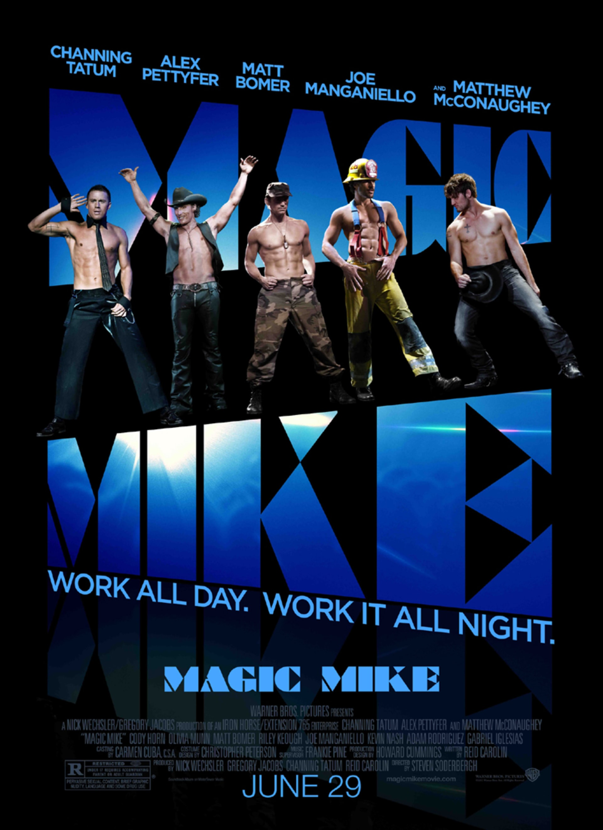 Magic Mike - Poster 1