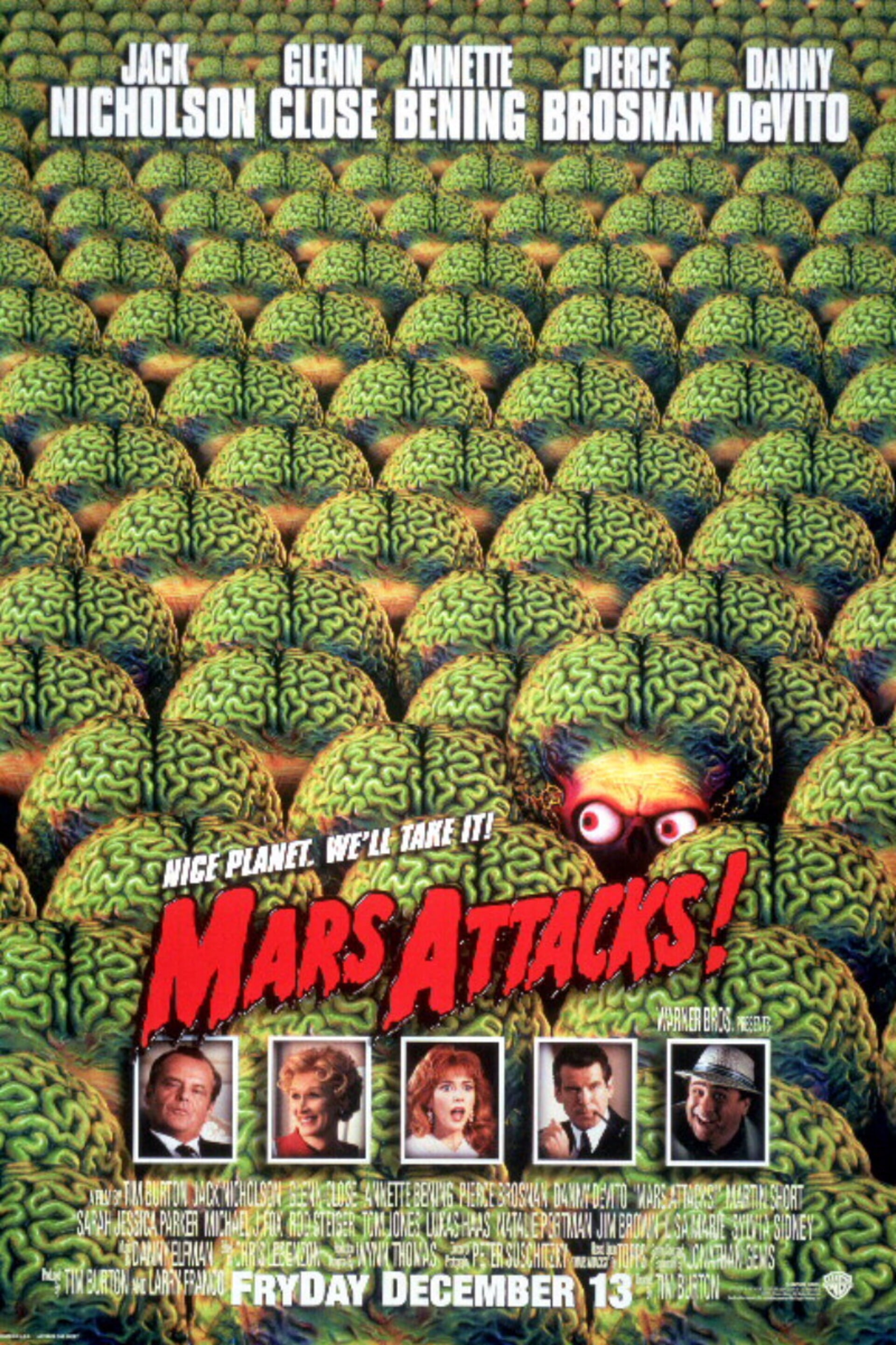 Mars Attacks! - Poster 1