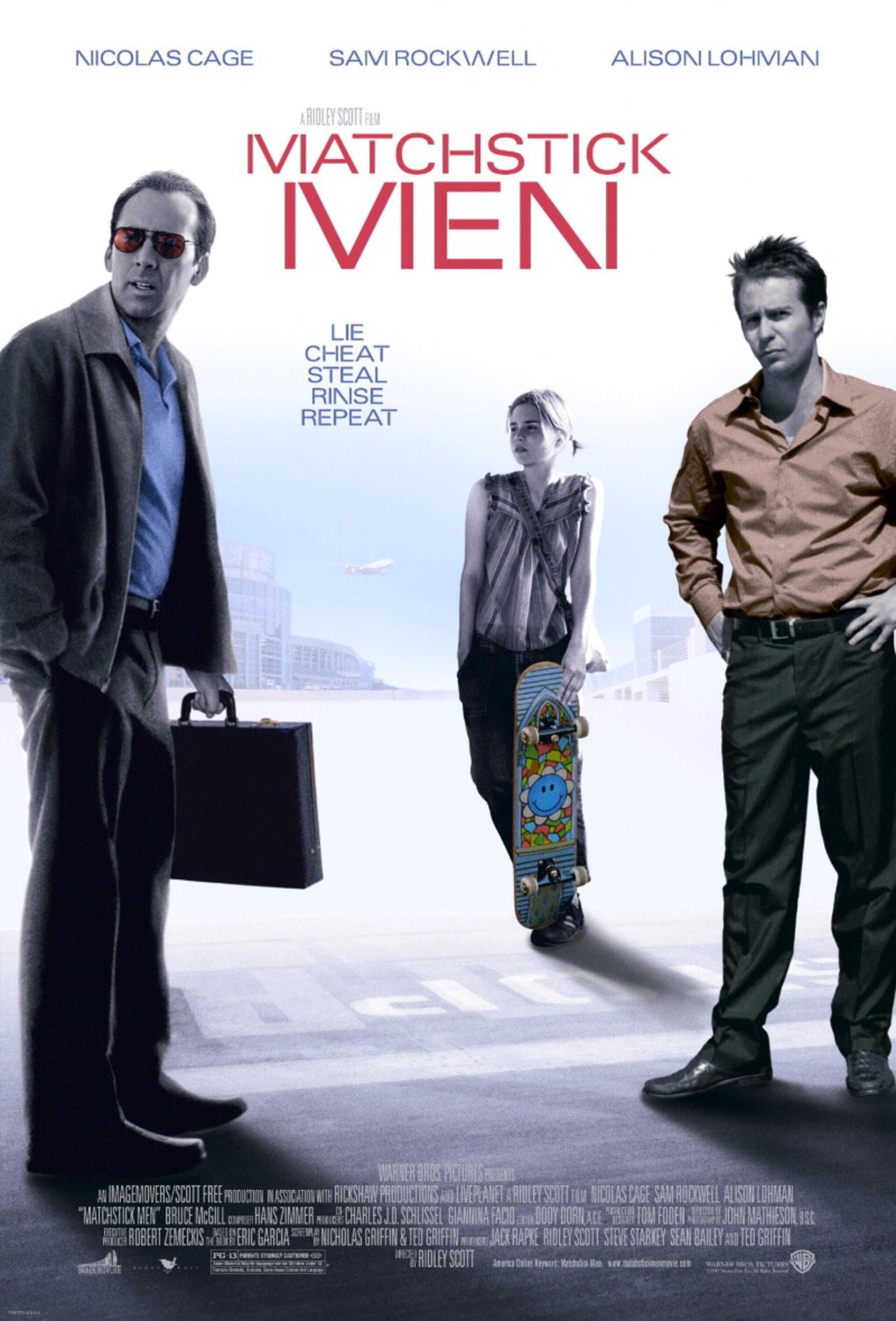 Matchstick Men - Poster 1