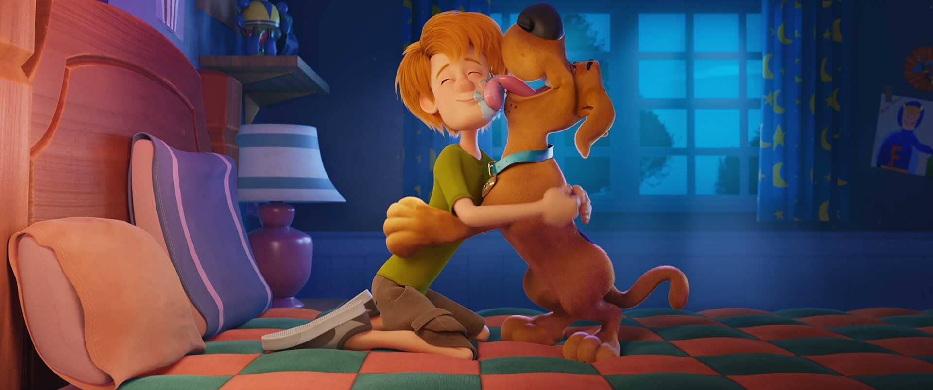 """(L-r) Young Shaggy and young Scooby-Doo in the new animated adventure """"SCOOB!"""""""