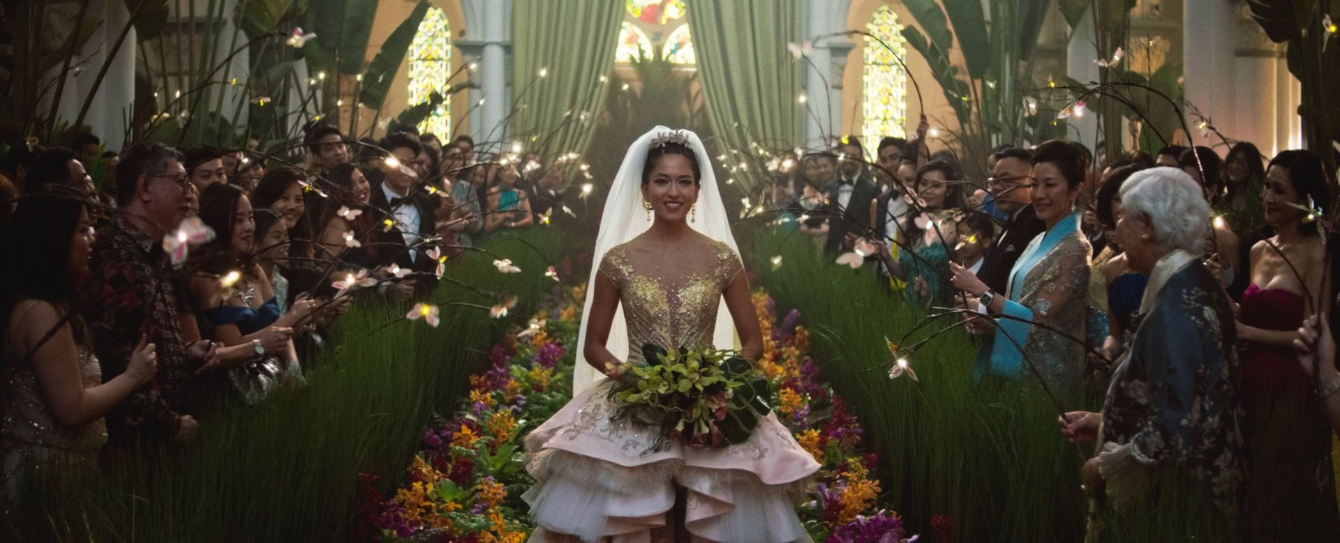 """A scene from Warner Bros. Pictures' and SK Global Entertainment's contemporary romantic comedy """"CRAZY RICH ASIANS,"""" a Warner Bros. Pictures release. Photo Credit: Courtesy of Warner Bros. Pictures"""