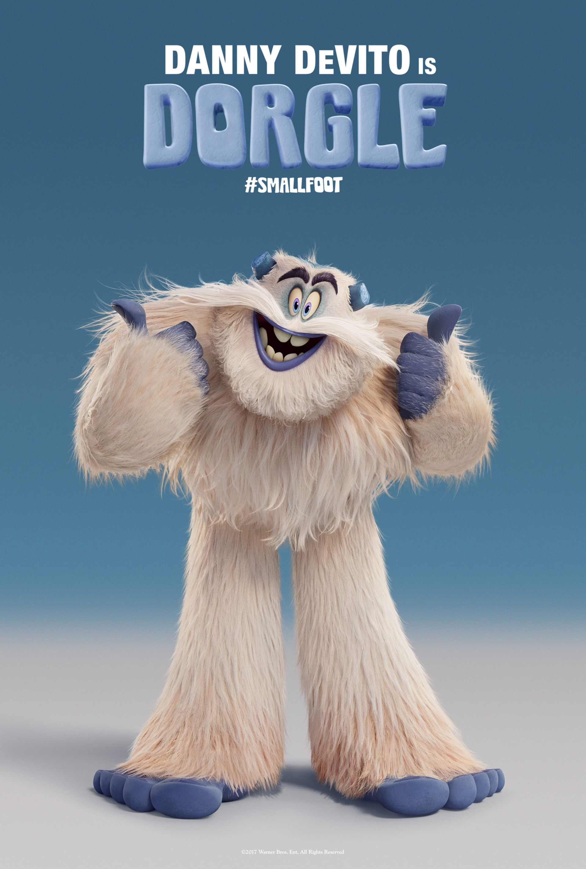 Dorgle character art poster