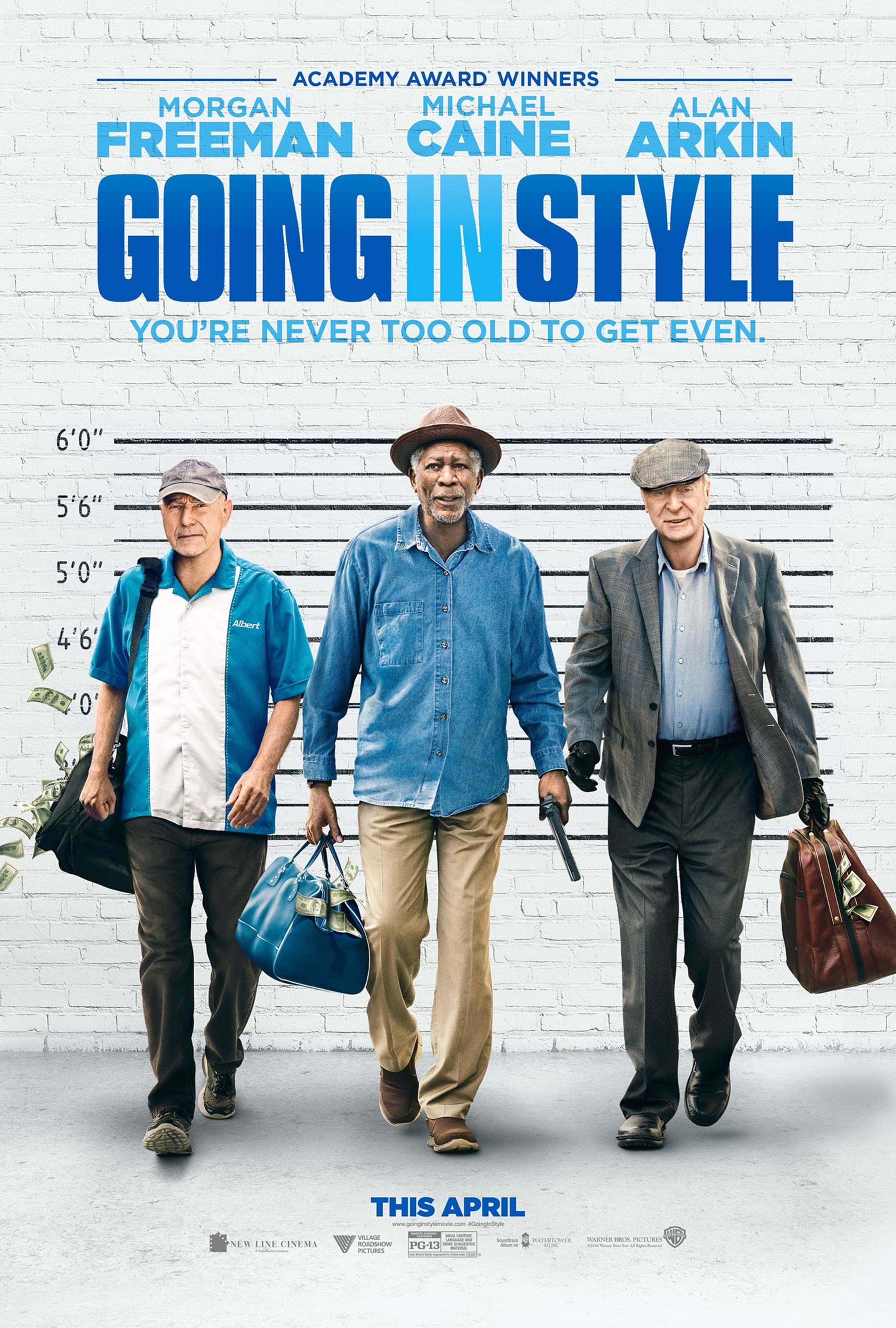Morgan Freeman, Michael Caine and Alan Arkin