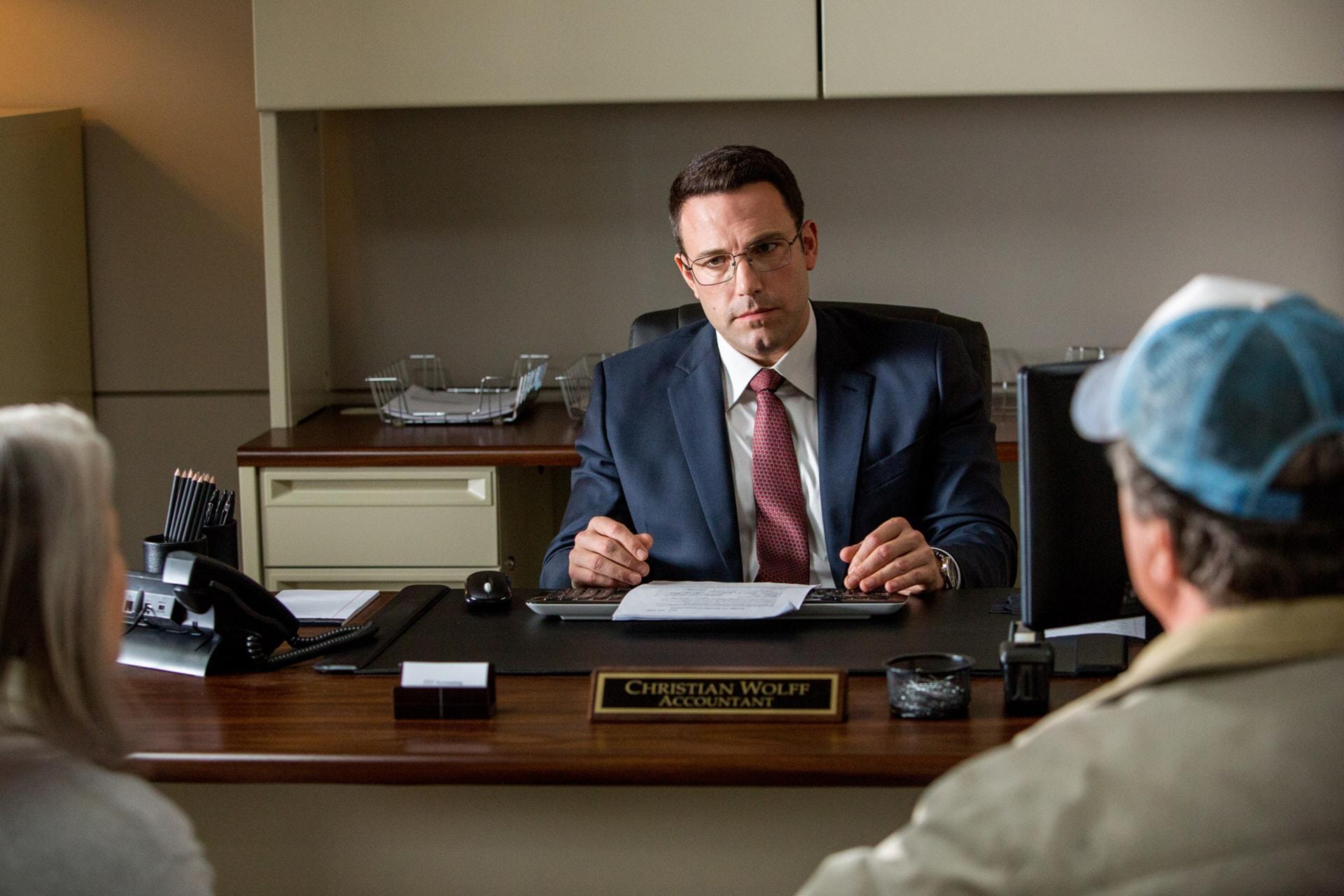 "BEN AFFLECK as Christian Wolff in Warner Bros. Pictures' ""THE ACCOUNTANT,"" a Warner Bros. Pictures release."