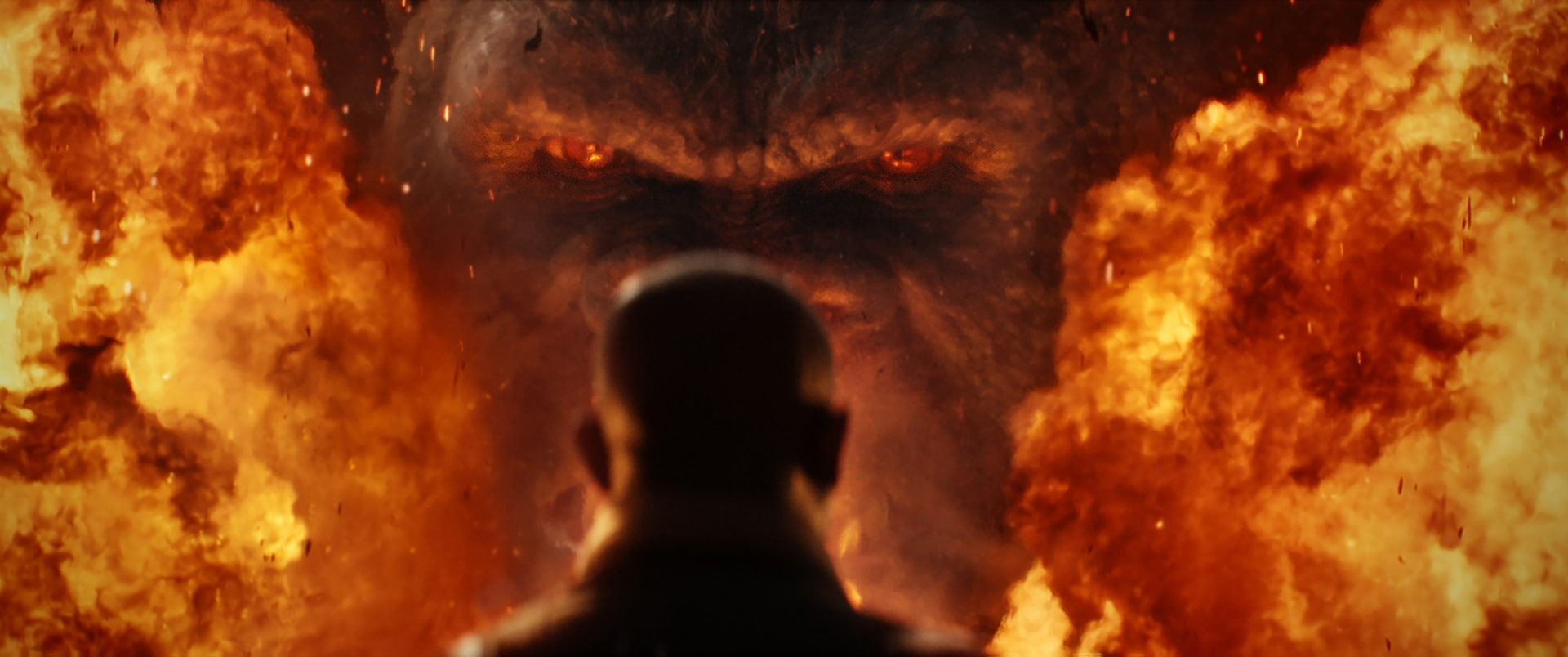 """KONG in Warner Bros. Pictures' and Legendary Pictures' action adventure """"KONG: SKULL ISLAND,"""" a Warner Bros. Pictures release."""