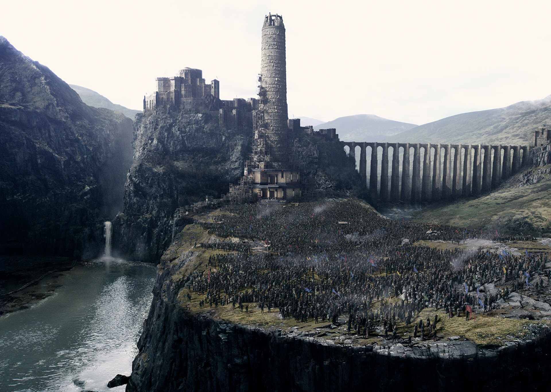 "A scene from Warner Bros. Pictures' and Village Roadshow Pictures' fantasy action adventure ""KING ARTHUR: LEGEND OF THE SWORD,"" distributed worldwide by Warner Bros. Pictures and in select territories by Village Roadshow Pictures."