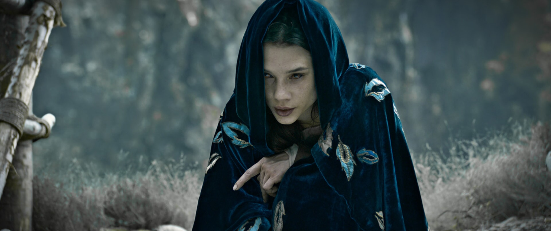 "ASTRID BERGÈS-FRISBEY as The Mage in Warner Bros. Pictures' and Village Roadshow Pictures' fantasy action adventure ""KING ARTHUR: LEGEND OF THE SWORD,"" distributed worldwide by Warner Bros. Pictures and in select territories by Village Roadshow Pictures."
