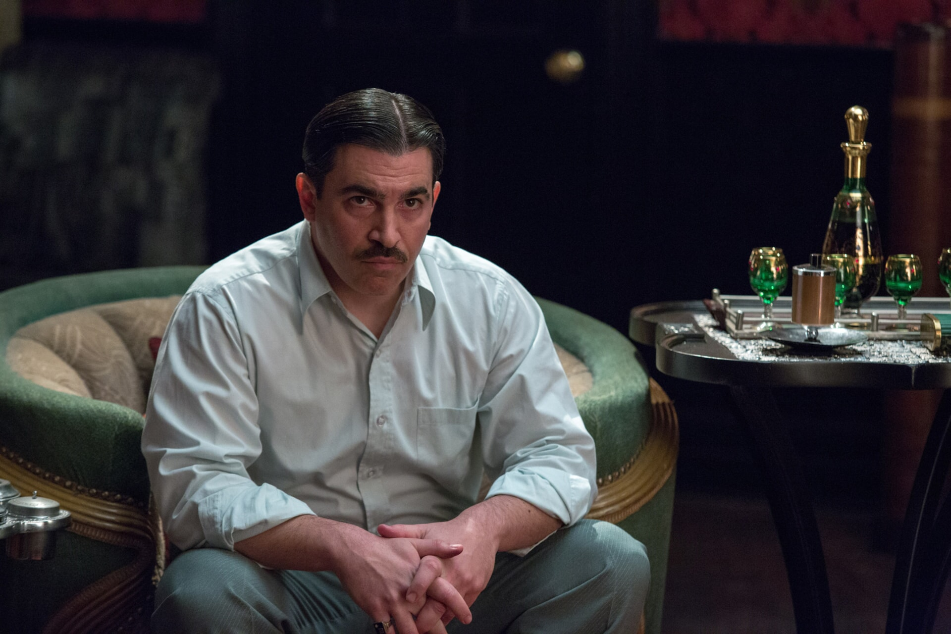 """CHRIS MESSINA as Dion Bartolo in Warner Bros. Pictures' dramatic crime thriller """"LIVE BY NIGHT,"""" a Warner Bros. Pictures release."""