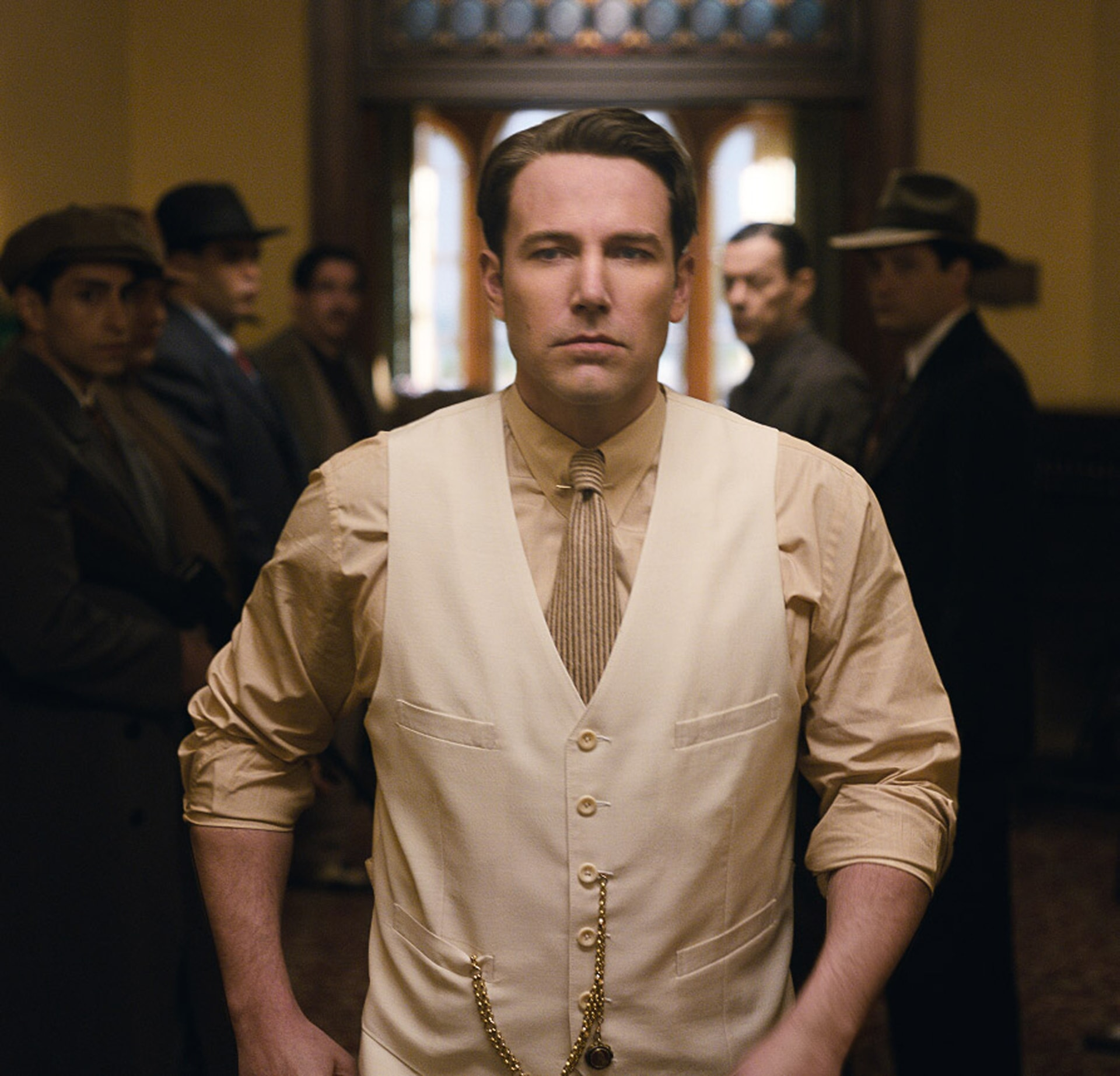 """BEN AFFLECK as Joe Coughlin in Warner Bros. Pictures' dramatic crime thriller """"LIVE BY NIGHT,"""" a Warner Bros. Pictures release."""