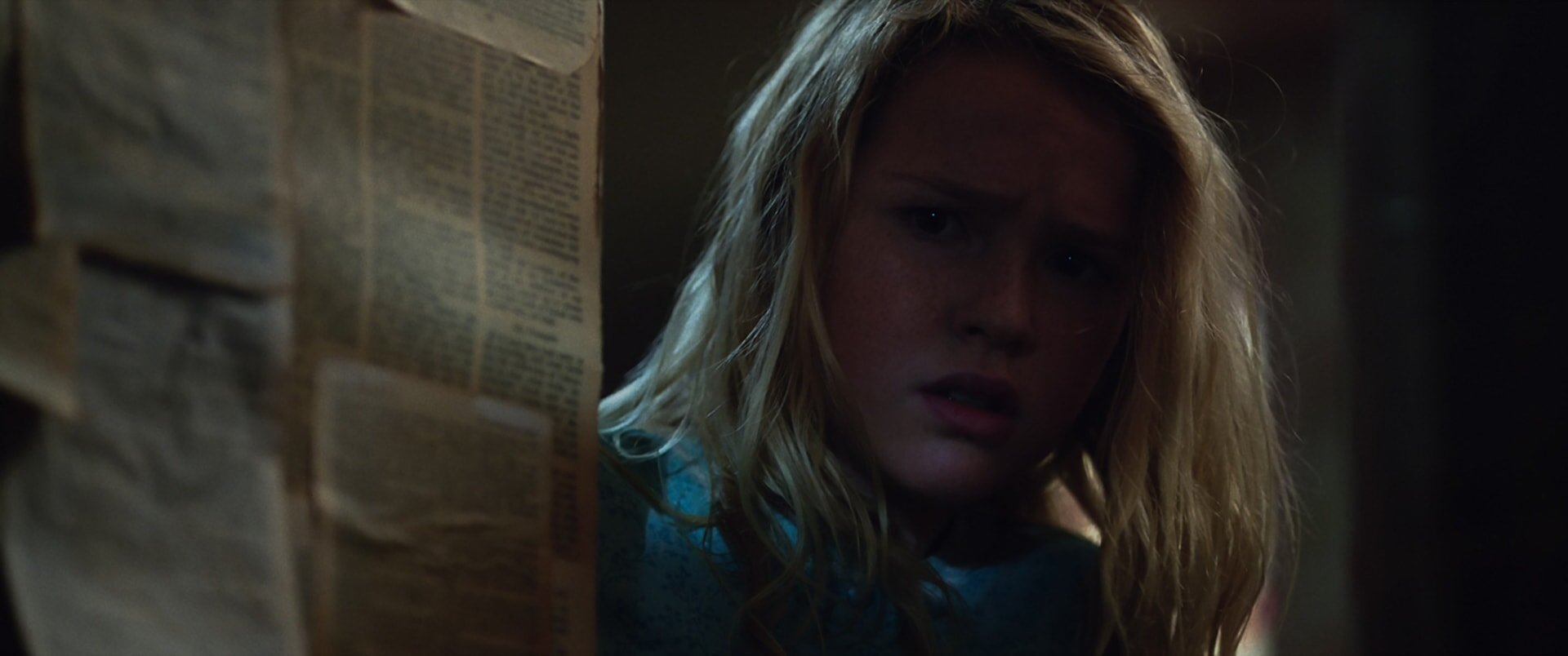 "TALITHA BATEMAN as Janice in New Line Cinema's supernatural thriller ""ANNABELLE: CREATION,"" a Warner Bros. Pictures release."