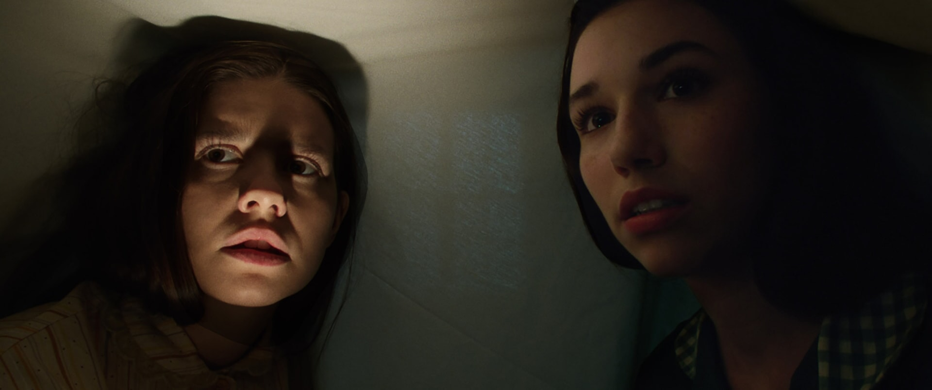 "PHILIPPA COULTHARD as Nancy and GRACE FULTON as Carol in New Line Cinema's supernatural thriller ""ANNABELLE: CREATION,"" a Warner Bros. Pictures release."