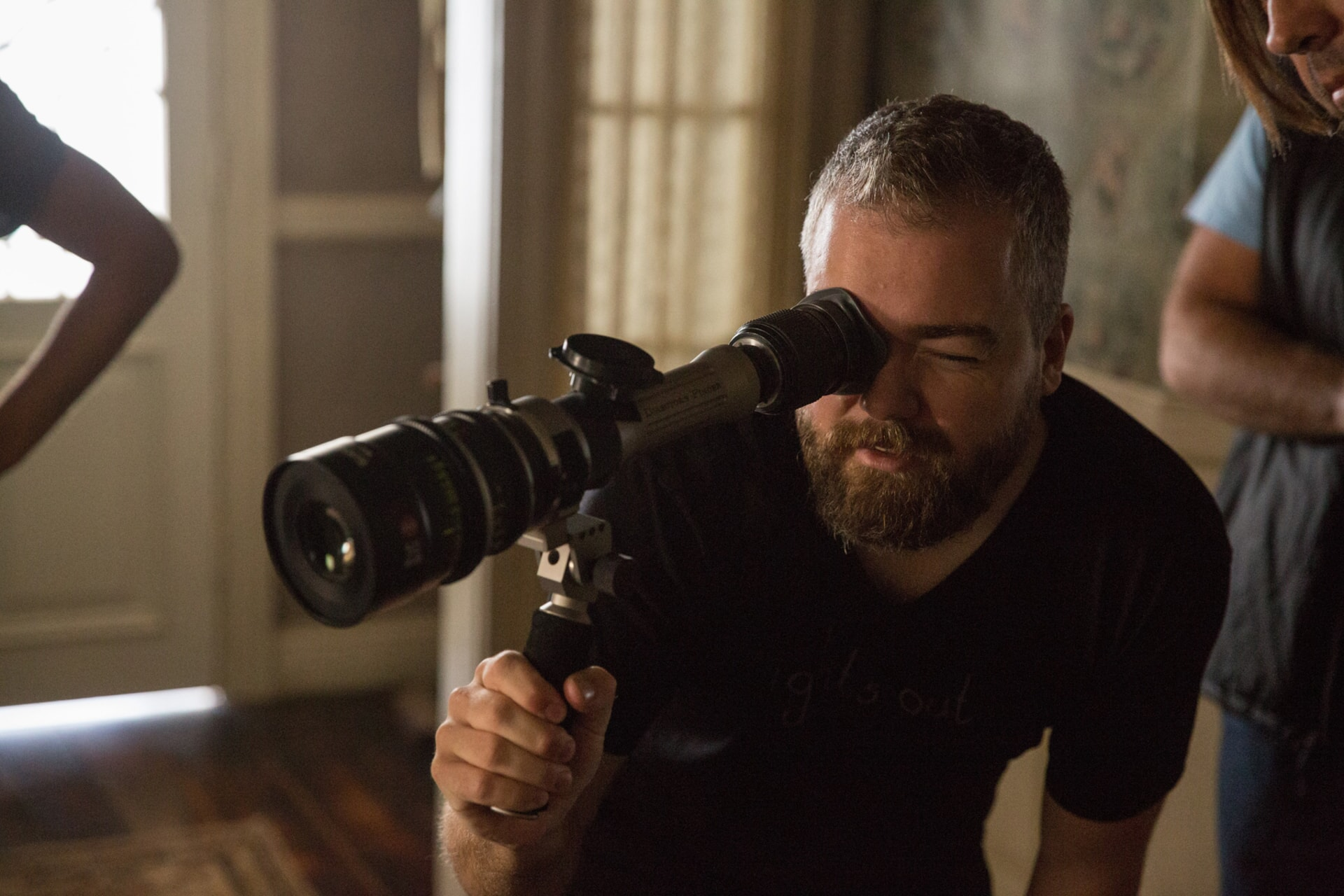"Director DAVID F. SANDBERG on the set of New Line Cinema's supernatural thriller ""ANNABELLE: CREATION,"" a Warner Bros. Pictures release."