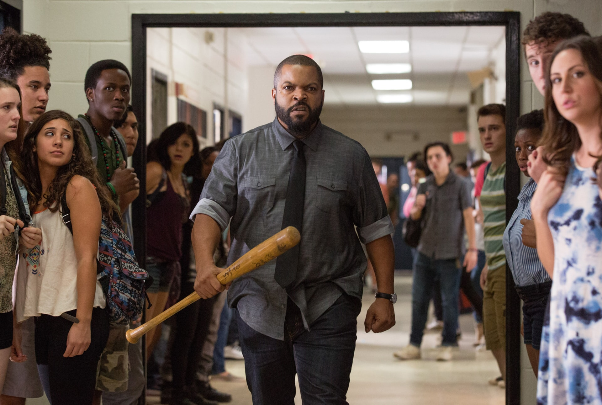 """ICE CUBE as Strickland in the New Line Cinema and Village Roadshow Pictures comedy """"FIST FIGHT,"""" a Warner Bros. Pictures release."""