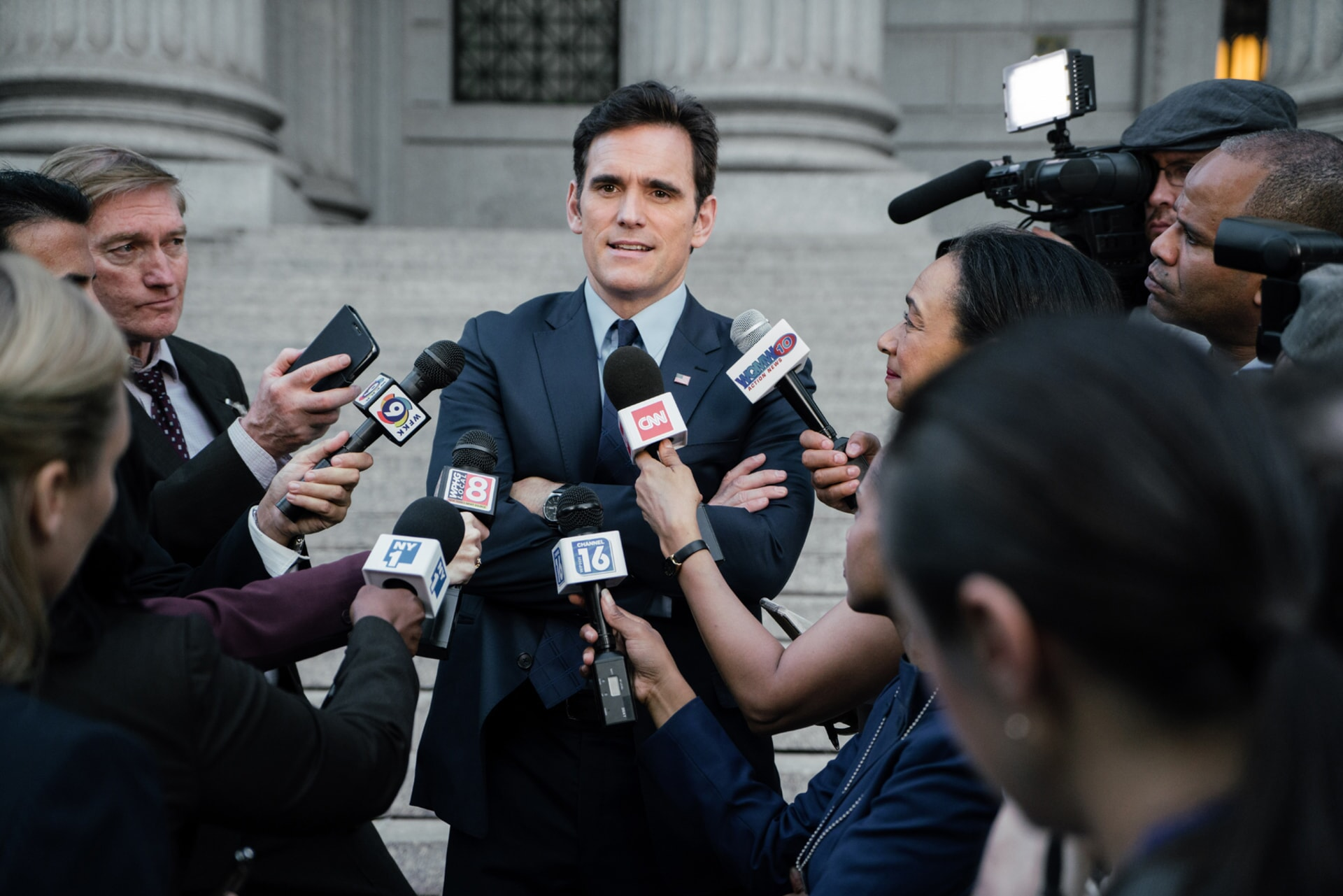 """MATT DILLON as FBI Agent Arlen Hamer in the New Line Cinema and Village Roadshow comedy """"GOING IN STYLE,"""" a Warner Bros. Pictures release."""