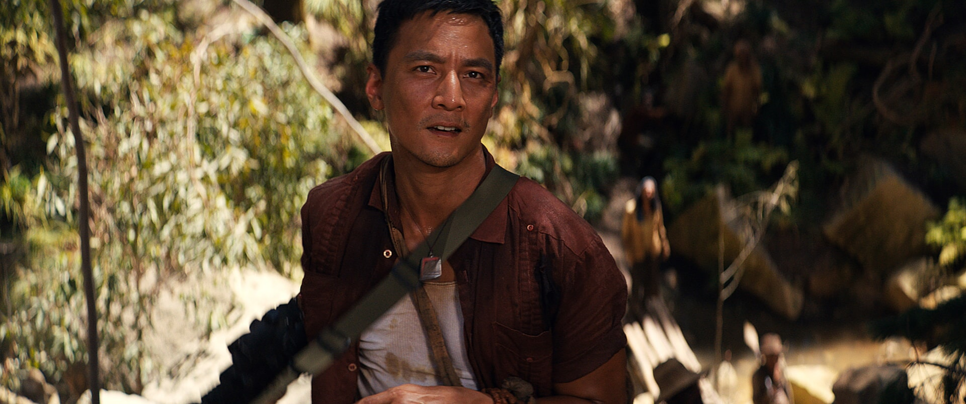 """DANIEL WU as Lu Ren in Warner Bros. Pictures' and Metro-Goldwyn-Mayer Pictures' action adventure """"TOMB RAIDER,"""" a Warner Bros. Pictures release."""