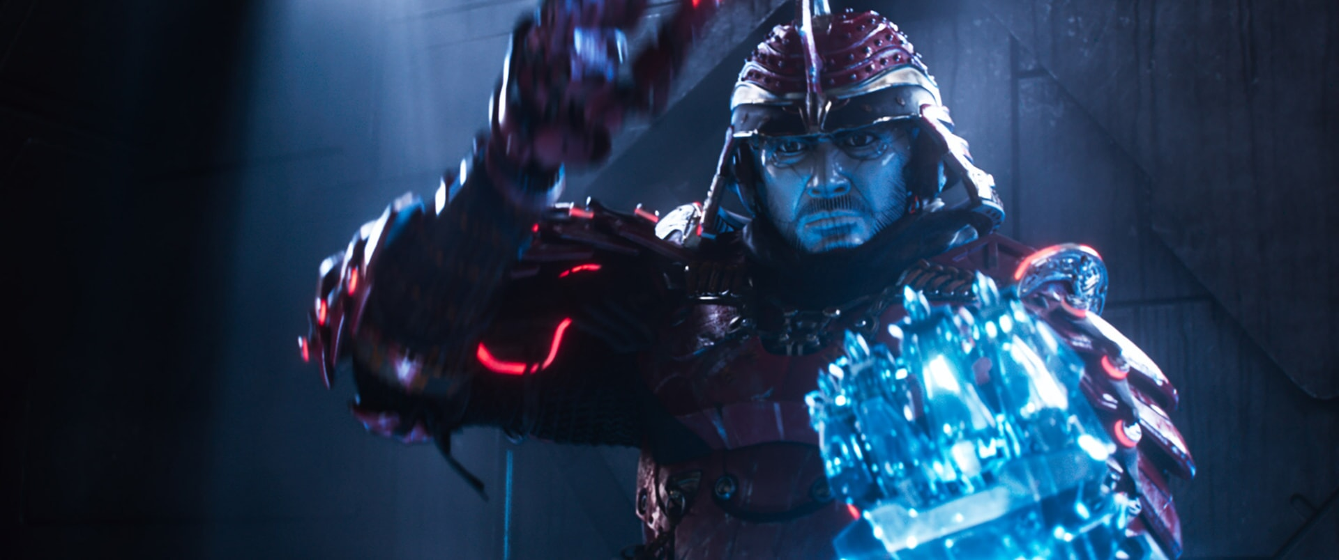 """Daito voiced by WIN MORISAKI in Warner Bros. Pictures', Amblin Entertainment's and Village Roadshow Pictures' action adventure """"READY PLAYER ONE,"""" a Warner Bros. Pictures release."""