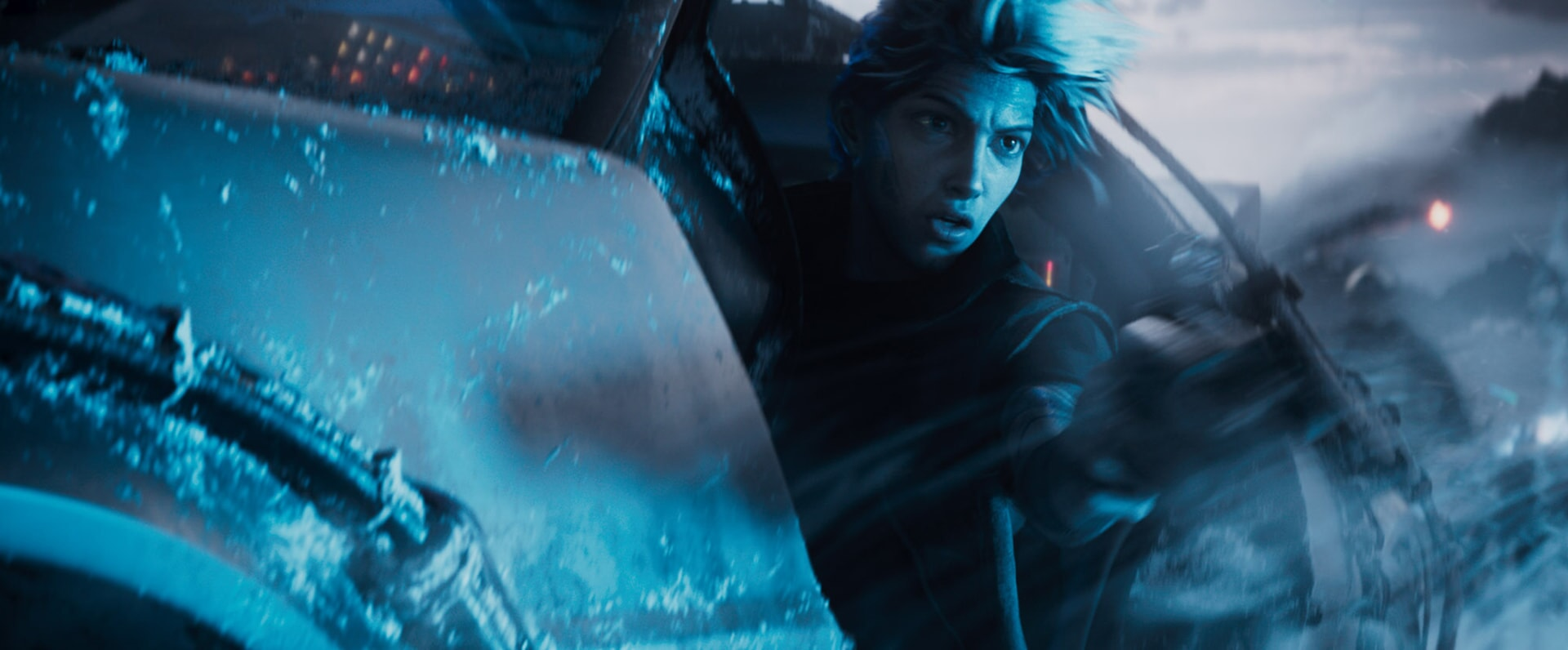 """TYE SHERIDAN as Parzival in Warner Bros. Pictures', Amblin Entertainment's and Village Roadshow Pictures' action adventure """"READY PLAYER ONE,"""" a Warner Bros. Pictures release."""