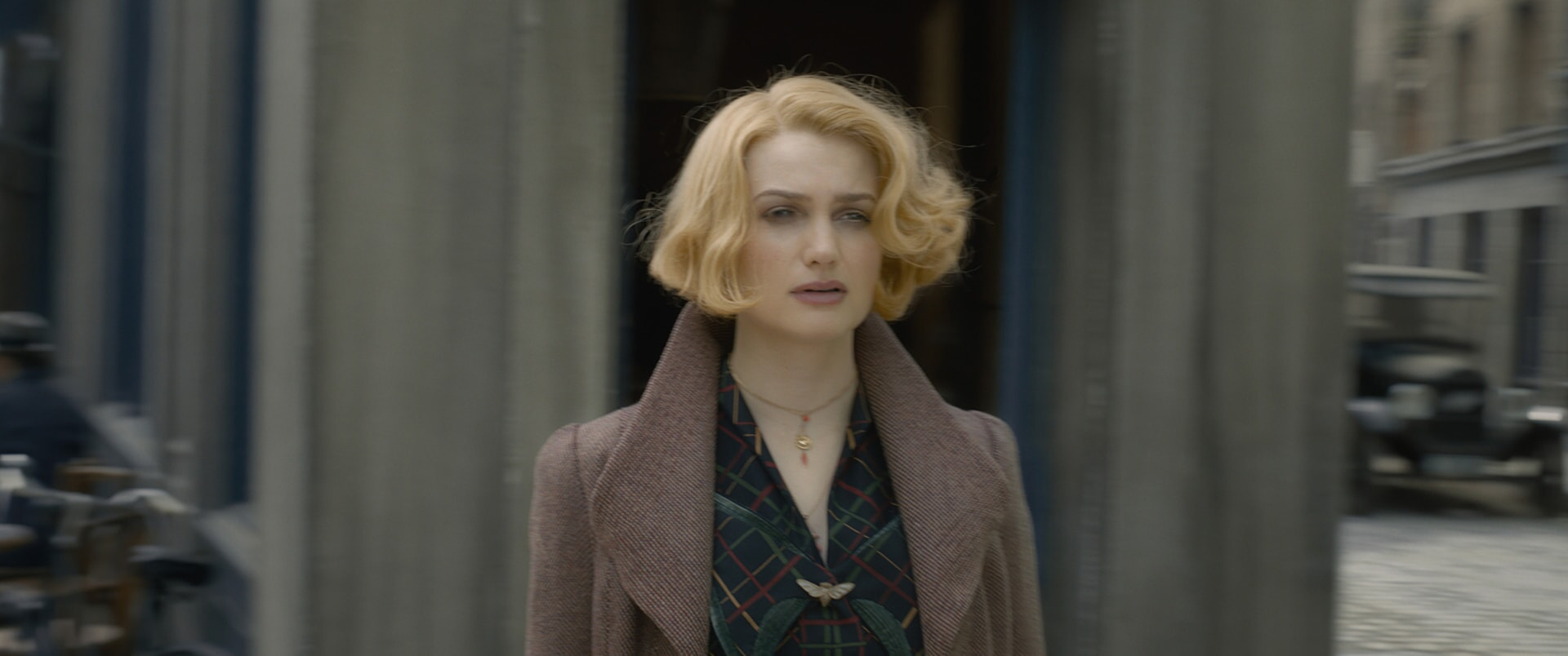 "ALISON SUDOL as Queenie Goldstein in Warner Bros. Pictures' fantasy adventure ""FANTASTIC BEASTS: THE CRIMES OF GRINDELWALD,"" a Warner Bros. Pictures release."