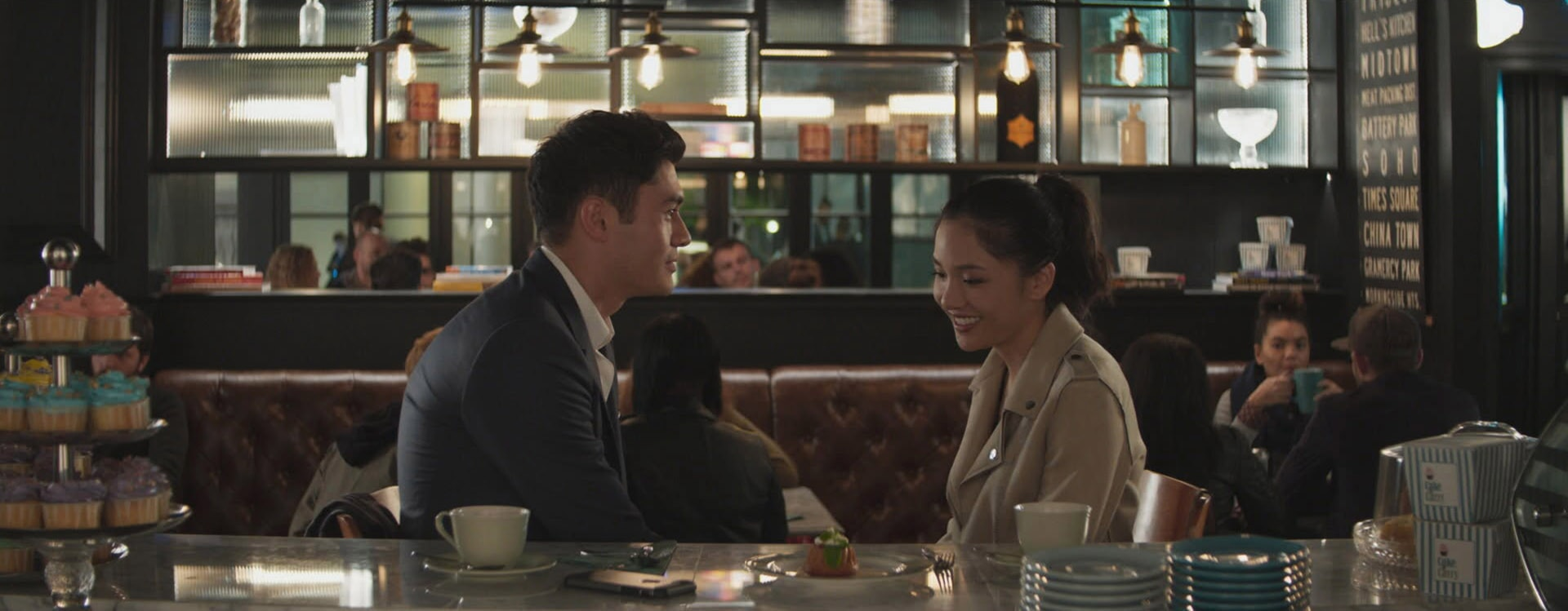 """(L-R) HENRY GOLDING as Nick and CONSTANCE WU as Rachel in Warner Bros. Pictures' and SK Global Entertainment's contemporary romantic comedy """"CRAZY RICH ASIANS,"""" a Warner Bros. Pictures release."""