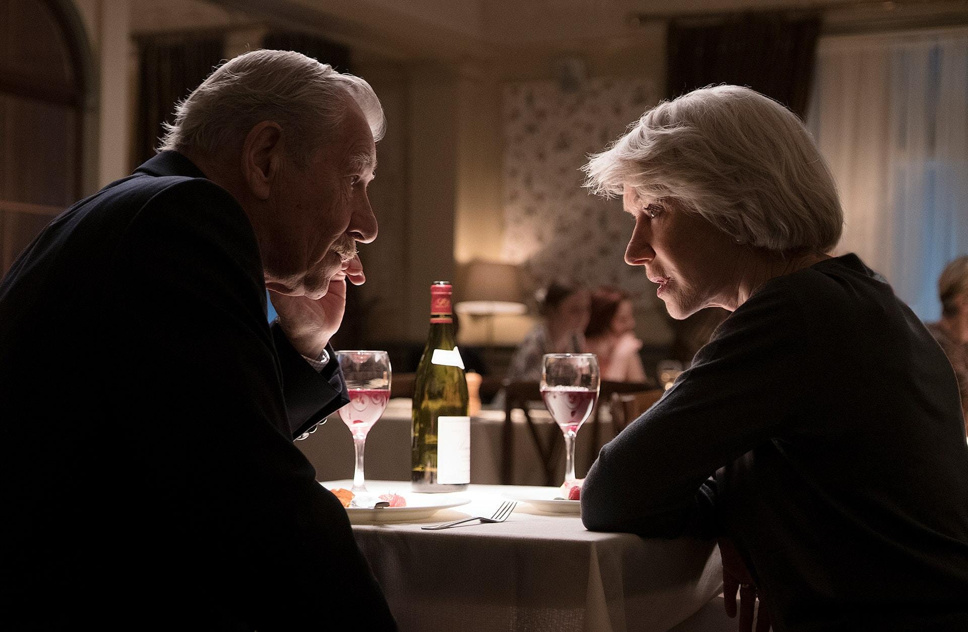 IAN McKELLEN as Roy Courtnay and HELEN MIRREN as Betty McLeish