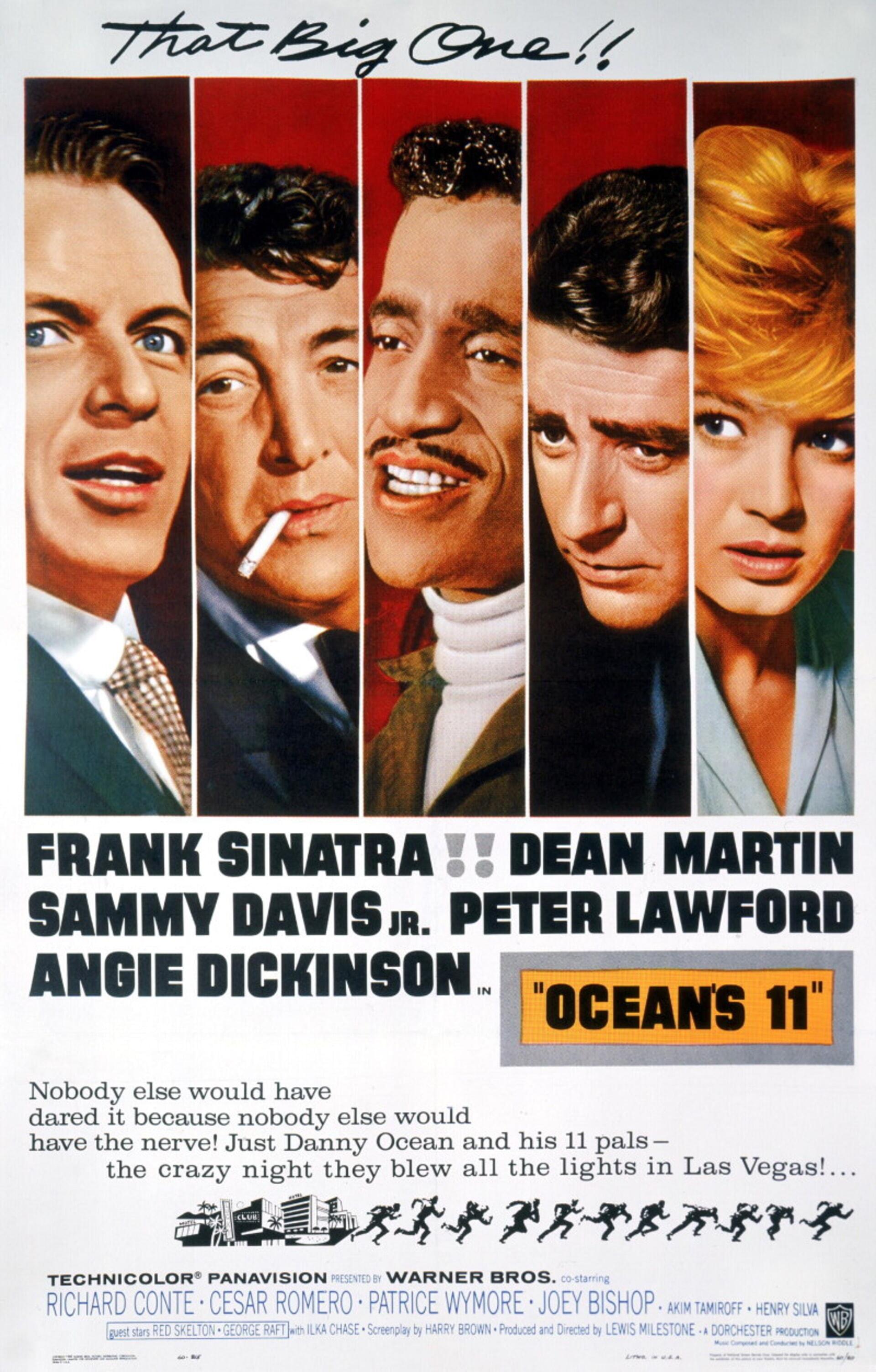 Ocean's 11 (1960) - Poster 1