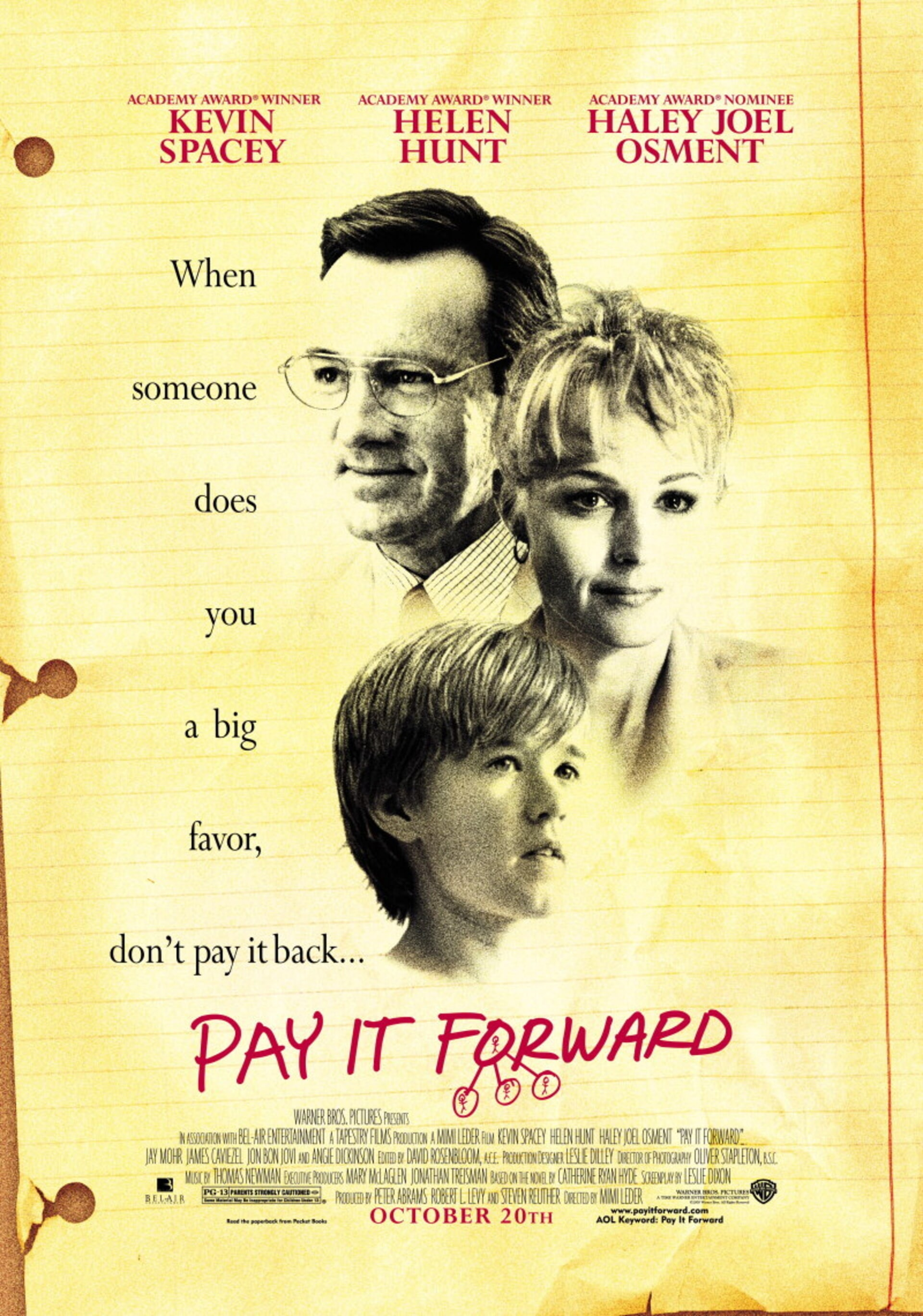 Pay It Forward - Poster 1