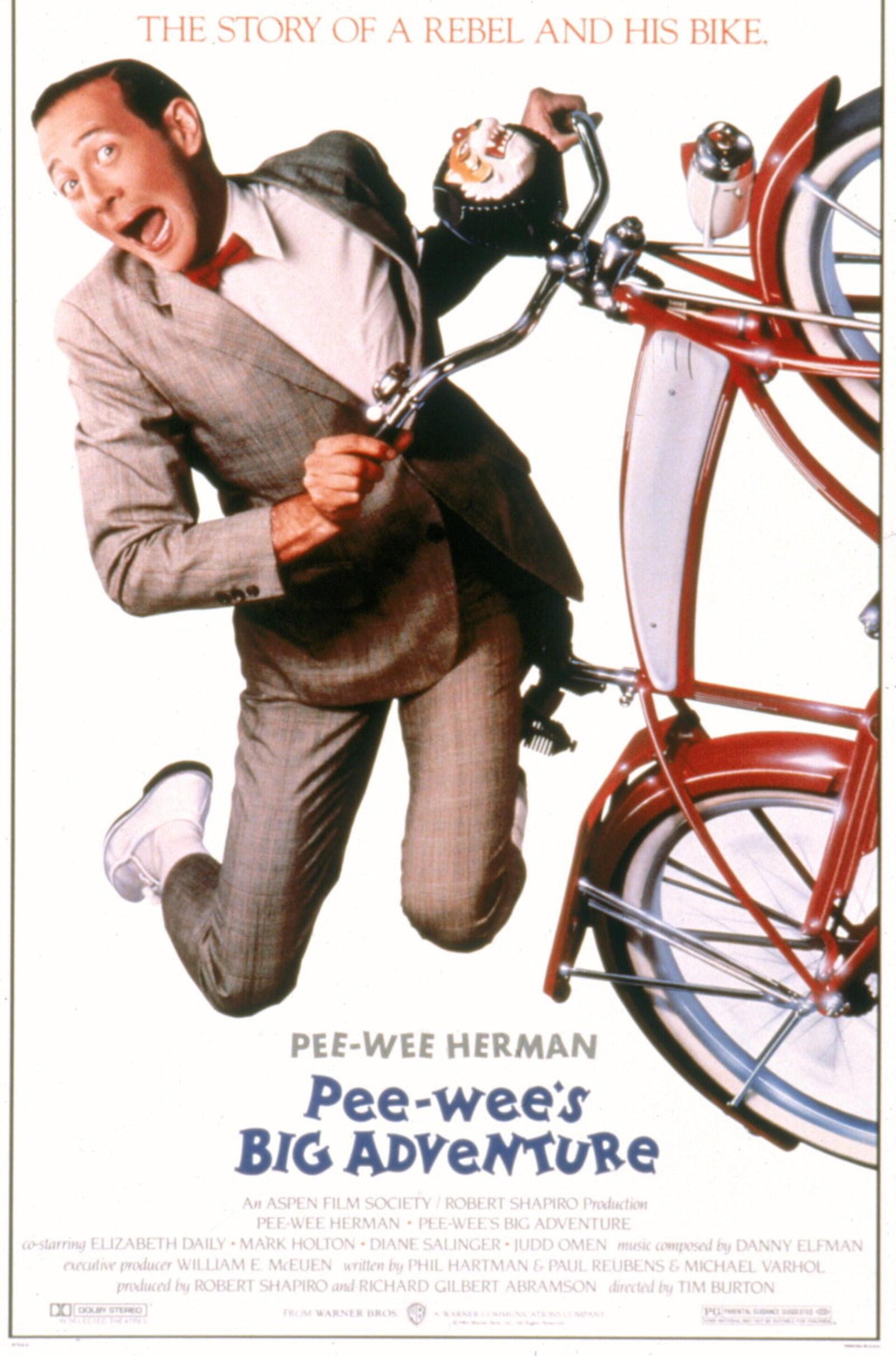 Pee-wee's Big Adventure - Poster 1